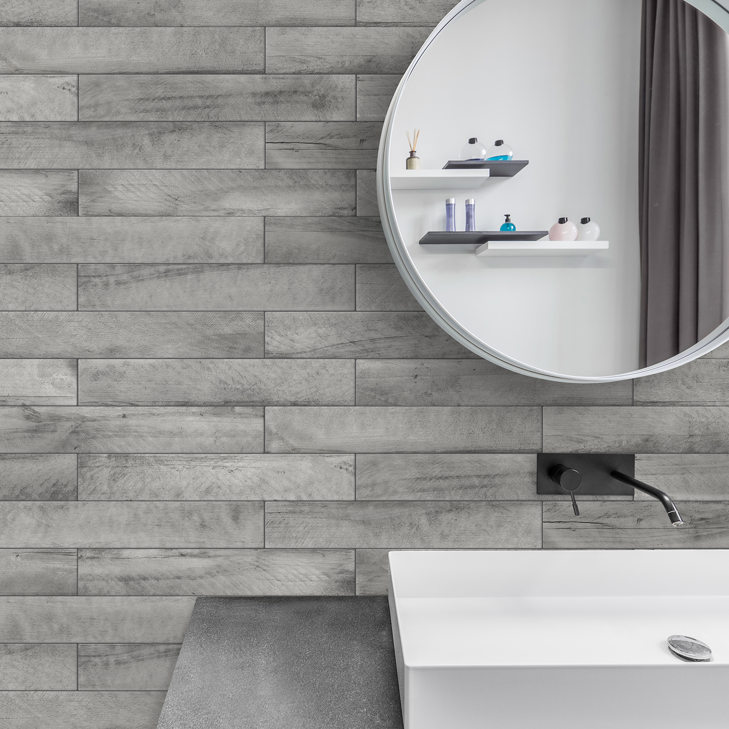 Most Recently Released Peel And Stick Bathroom Tiles (View 10 of 20)
