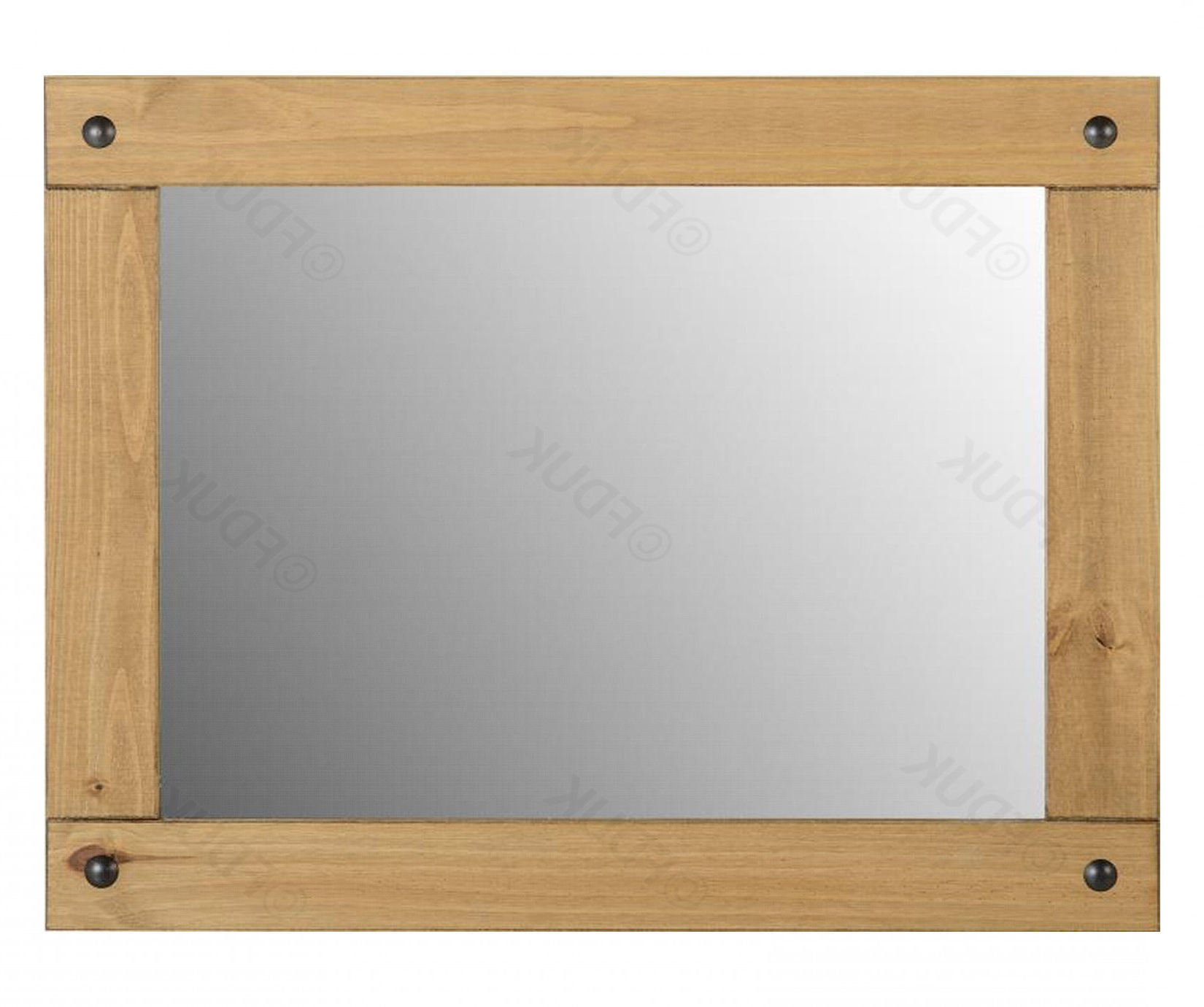 Most Recently Released Seconique Corona Pine Large Wall Mirror Fduk Best Price Guarantee We Will Beat Our Competitors Price! Give Our Sales Team A Call On 0116 235 77 86 And In Pine Wall Mirrors (View 2 of 20)