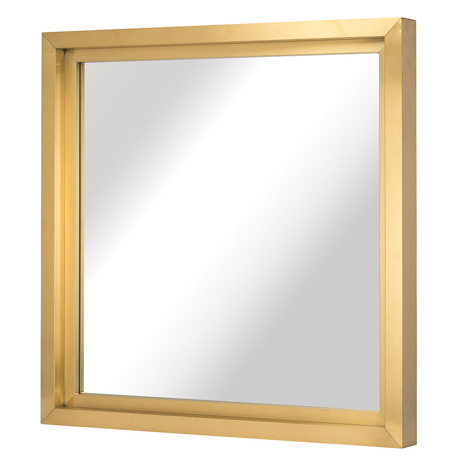 Most Recently Released Square Wall Mirrors In Glam Square Wall Mirror (Gallery 14 of 20)