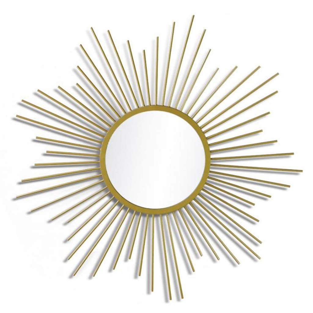 Most Recently Released Sun Shaped Wall Mirrors With Regard To Amazon: Mlmhlmr Wall Mounted Mirror Beautifully Decorated (View 10 of 20)