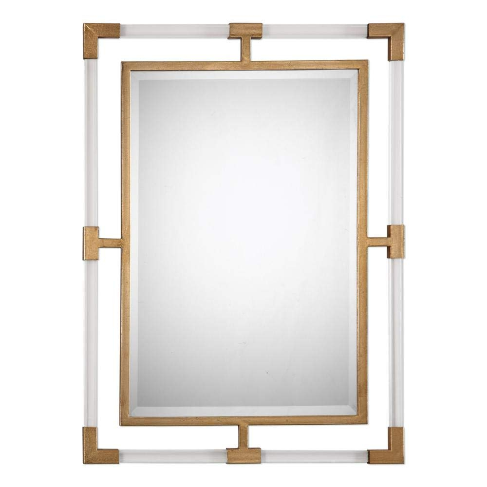 Most Recently Released Uttermost Wall Mirrors For Amazon: Uttermost Balkan Wall Mirror – 28W X 38H In (View 7 of 20)