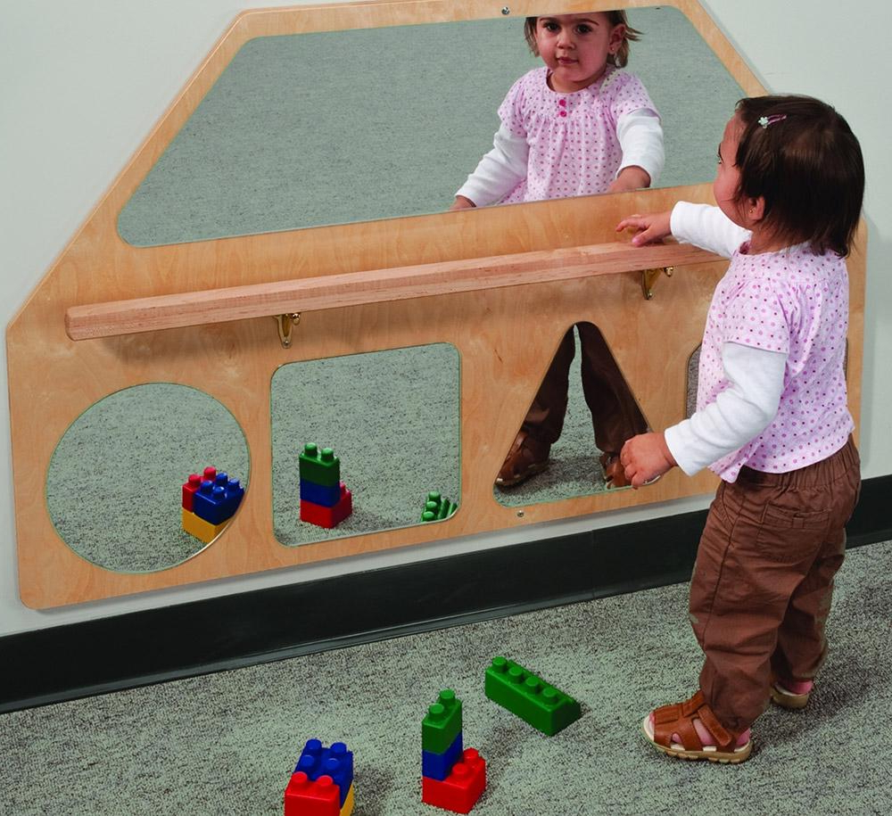 Most Recently Released Wall Mirror Shapes With Pull Up Bar For Children Wall Mirrors (View 20 of 20)