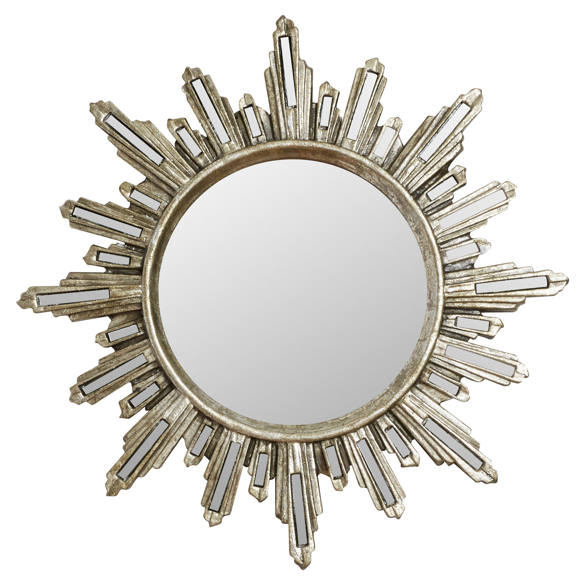Most Recently Released Willa Arlo Interiors Traditional Accent Mirror In Harbert Modern And Contemporary Distressed Accent Mirrors (View 16 of 20)