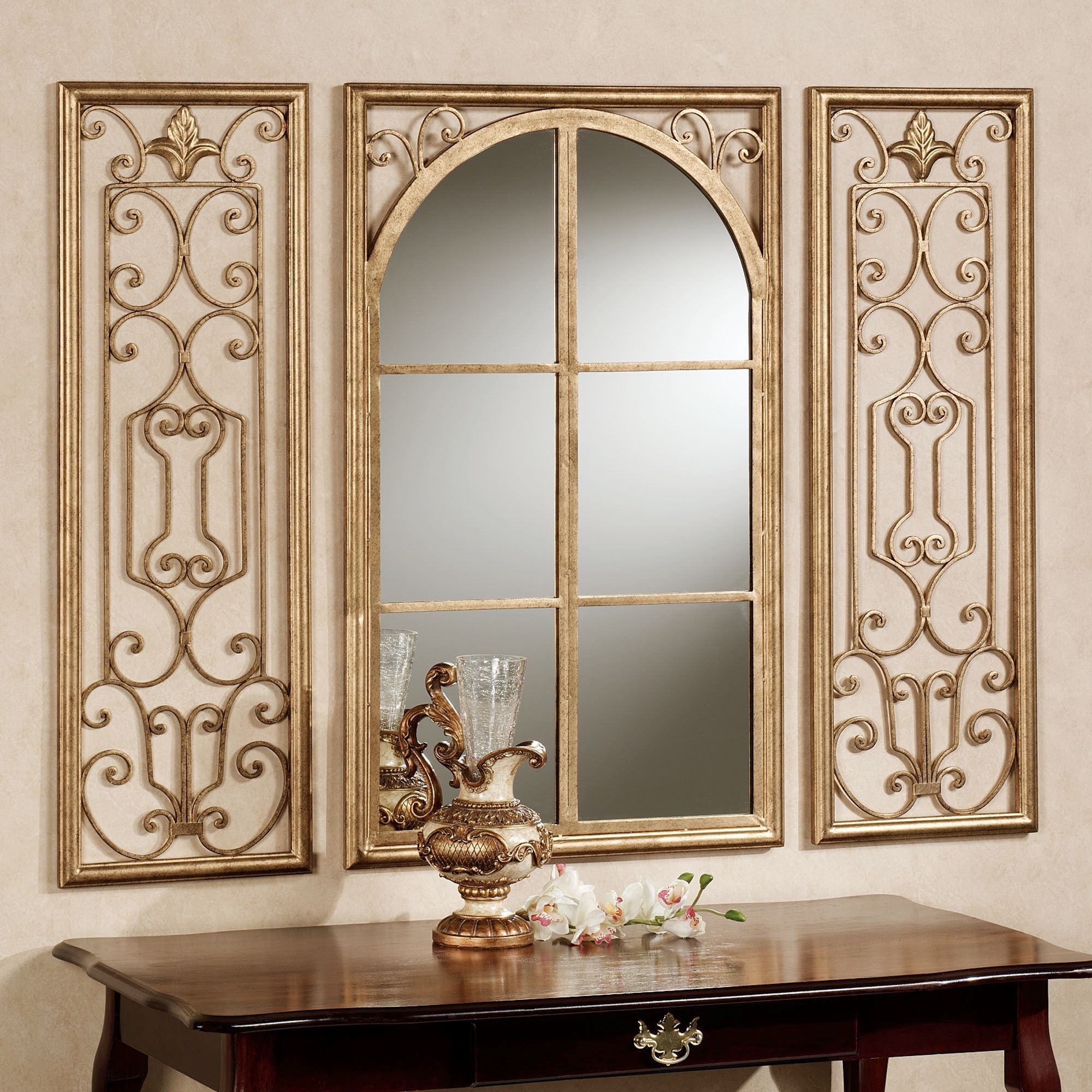 Most Recently Released Window Wall Mirror V Sanctuarycom Distressed Pane Large Decoration Throughout Window Cream Wood Wall Mirrors (View 8 of 20)