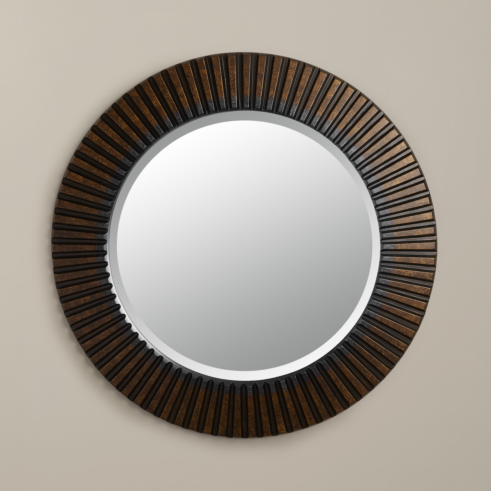 Most Recently Released World Menagerie Round Eclectic Accent Mirror Within Round Eclectic Accent Mirrors (View 5 of 20)