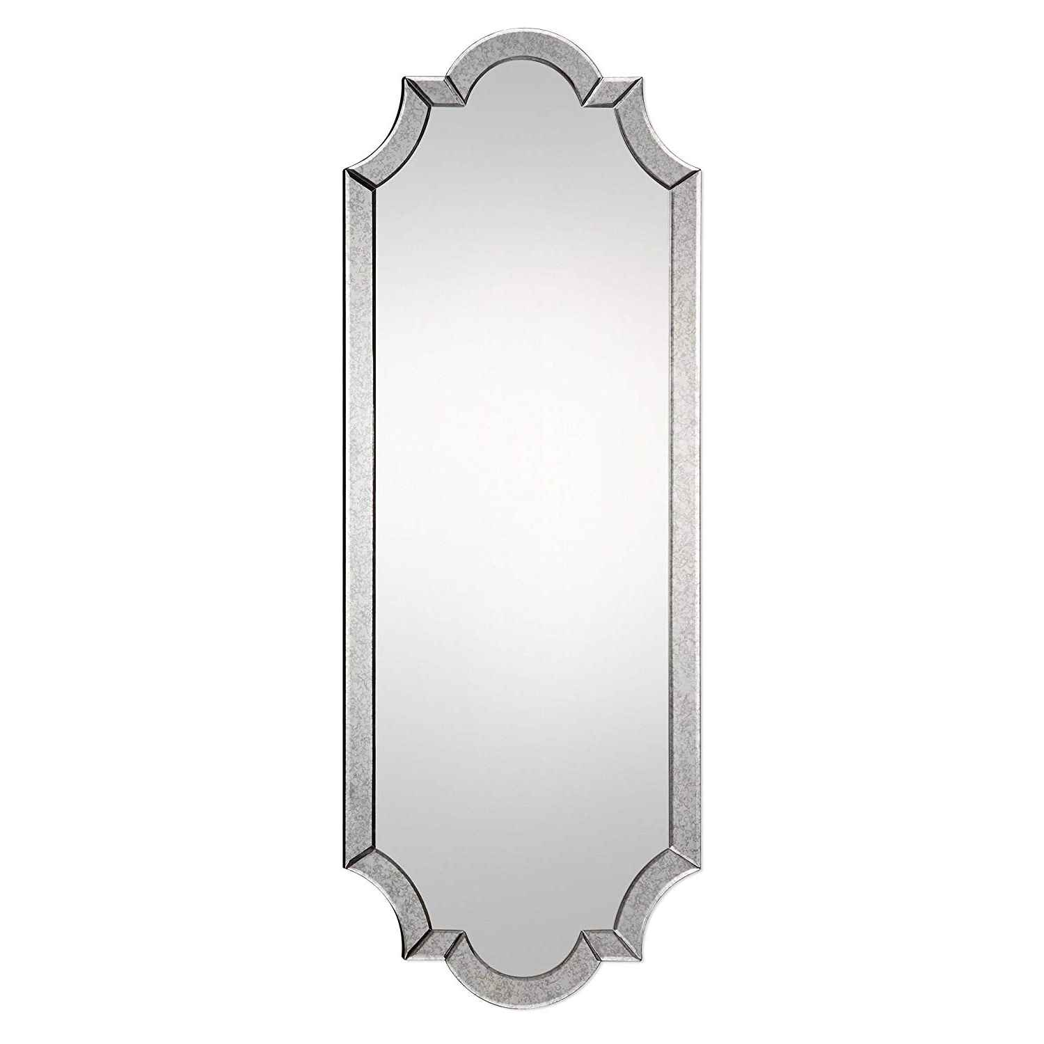 """Most Up To Date Arch Vertical Wall Mirrors Within Amazon: My Swanky Home Oversized 64"""" Shaped Tall Venetian Wall (Gallery 17 of 20)"""