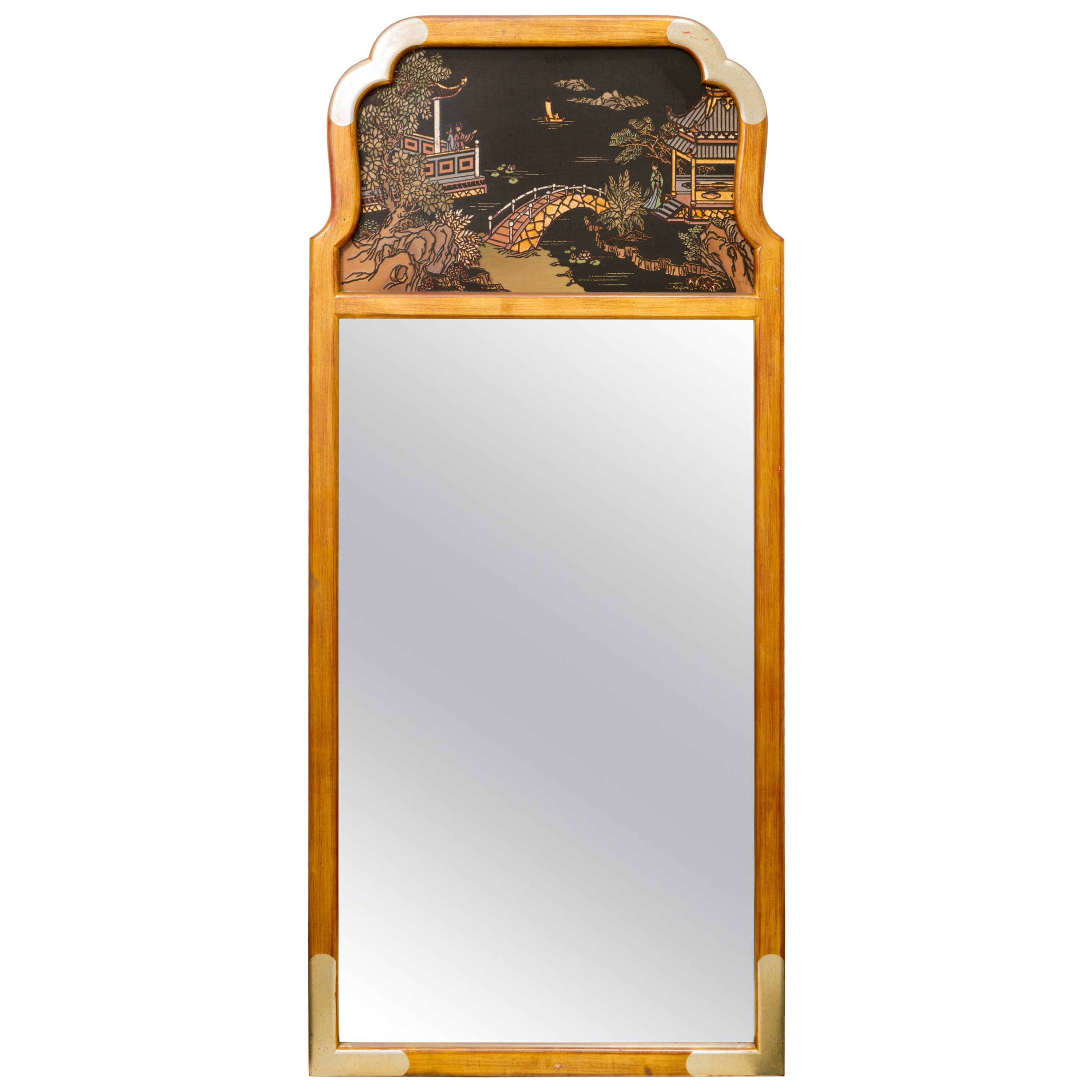 Most Up To Date Asian Inspired Wall Mirrors Throughout Asian Style Wall Mirrorla Barge (View 10 of 20)