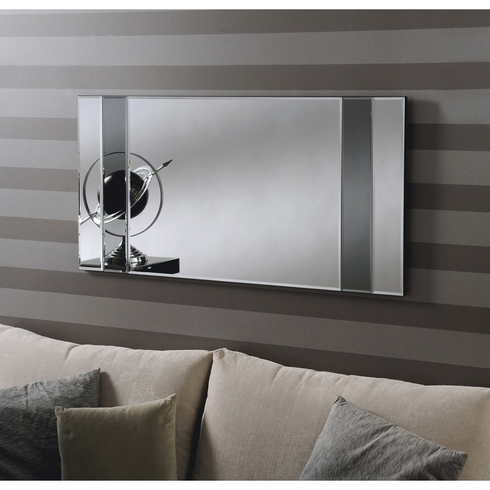 Most Up To Date Athena Grey Wall Mirror In Grey Wall Mirrors (View 11 of 20)
