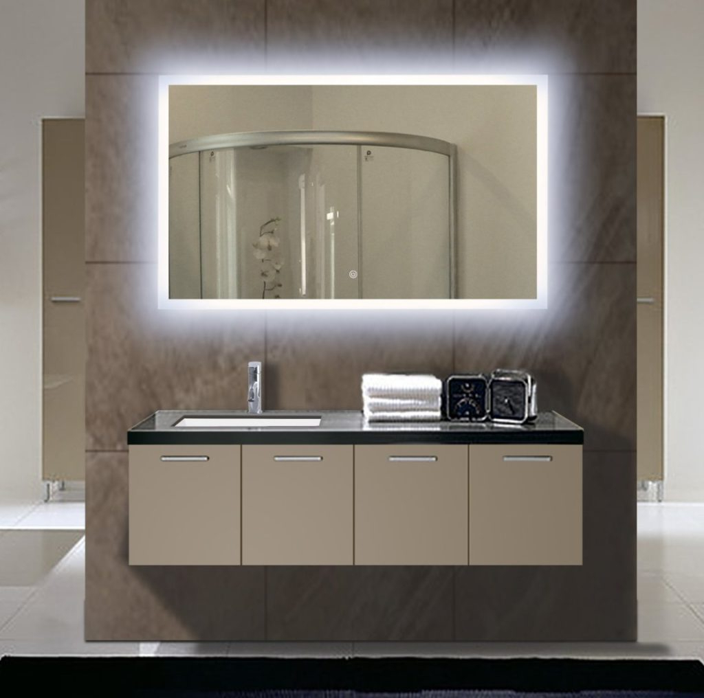 Most Up To Date Bathroom Full Wall Mirrors For Top 34 Splendiferous Bathroom Mirror With Shelf Mirrors For Sale L (View 17 of 20)