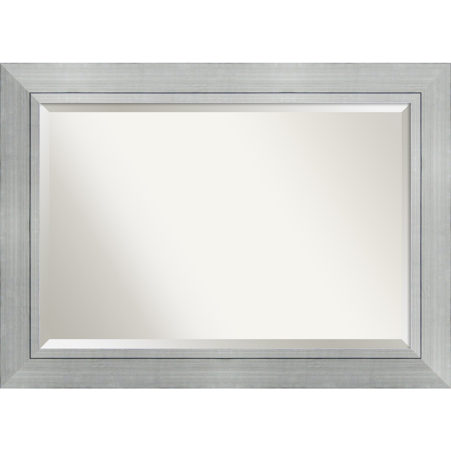 """Most Up To Date Bathroom Mirror Extra Large, Fits Standard 30"""" To 48"""" Cabinet, Romano  Silver: Outer Size 43 X 31 Throughout Extra Large Framed Wall Mirrors (View 19 of 20)"""