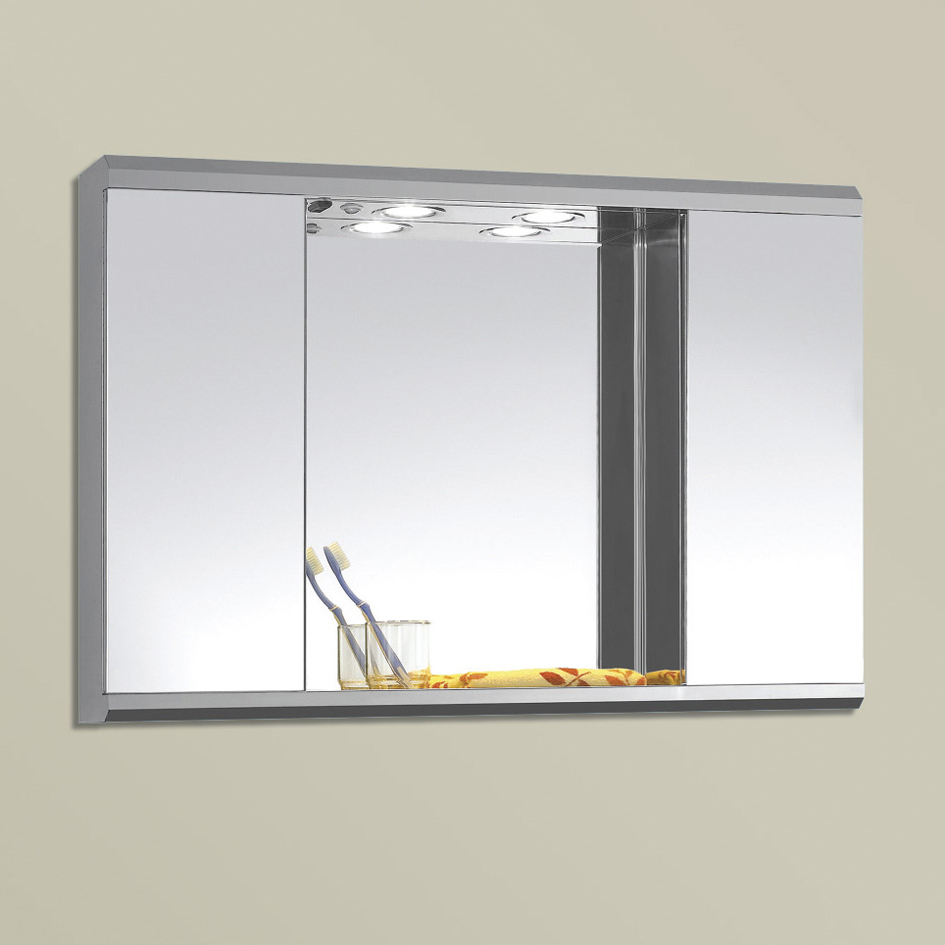 Most Up To Date Bathroom Wall Mirror Cabinets Pertaining To Bathroom Mirror Wall Cabinets (View 13 of 20)
