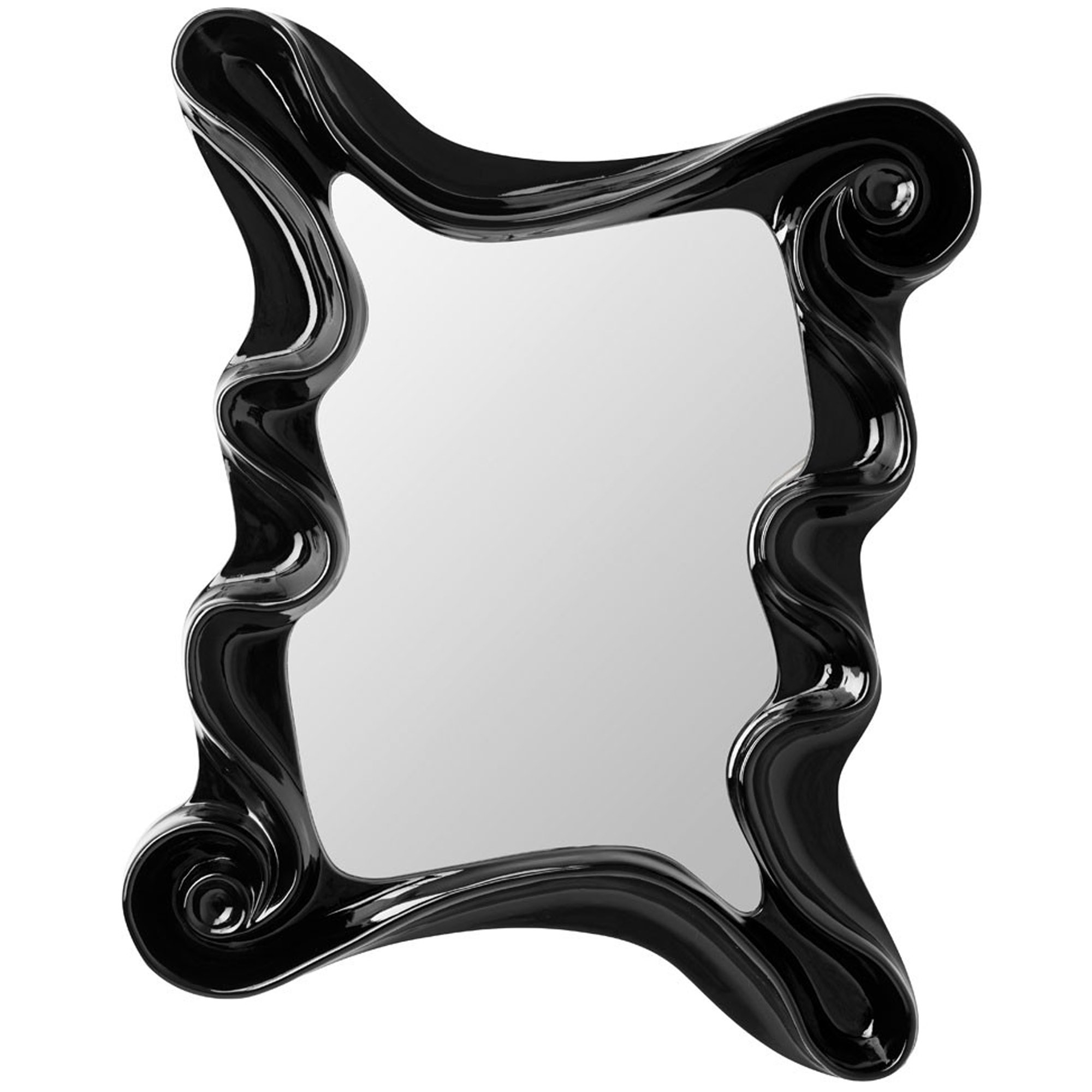 Most Up To Date Black Alaia Wall Mirror Within Funky Wall Mirrors (View 14 of 20)