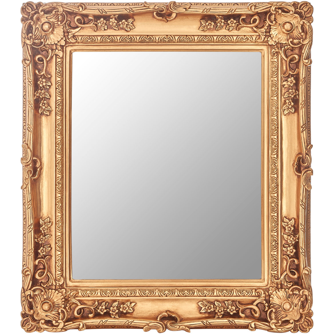 Most Up To Date Cannes Gold Wall Mirror With Regard To Small Gold Wall Mirrors (View 11 of 20)