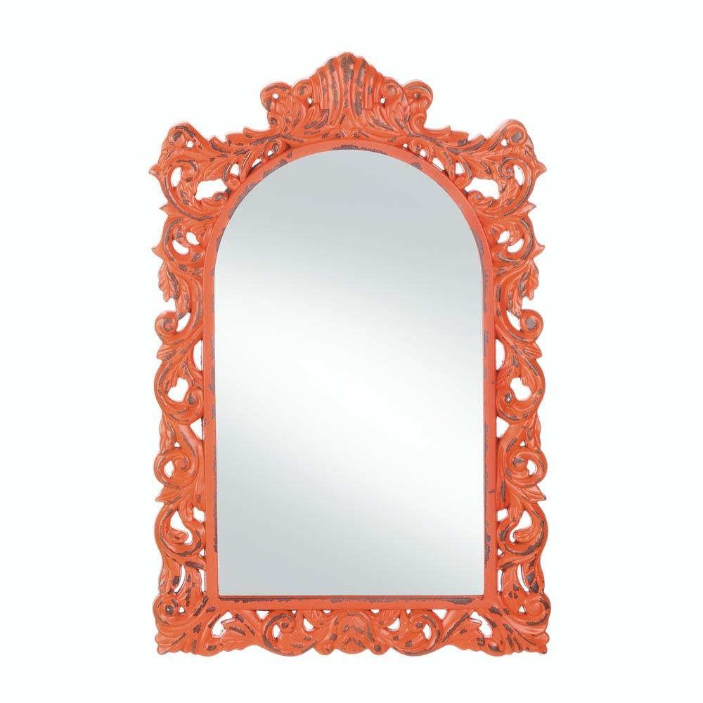 Most Up To Date Decorative Etched Wall Mirrors Intended For Wall Mirrors, Antique Girls Bedroom Decorative Stylish Etched Wall (View 13 of 20)