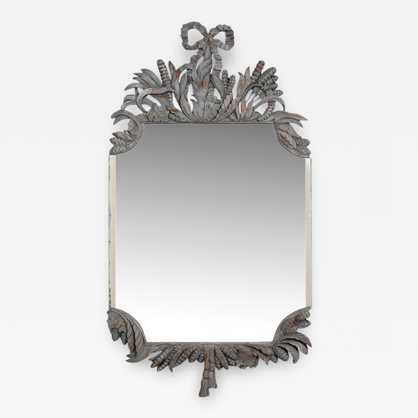 Most Up To Date Distressed Wall Mirrors Pertaining To A Louis Xvi Style Ornate Distressed Wall Mirror (View 16 of 20)