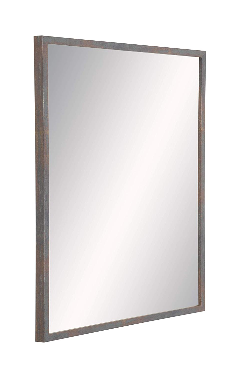 Most Up To Date Elevate Wall Mirrors Within Amazon: Brandtworks Modern Industrial Wall Mirror: Home (Gallery 7 of 20)
