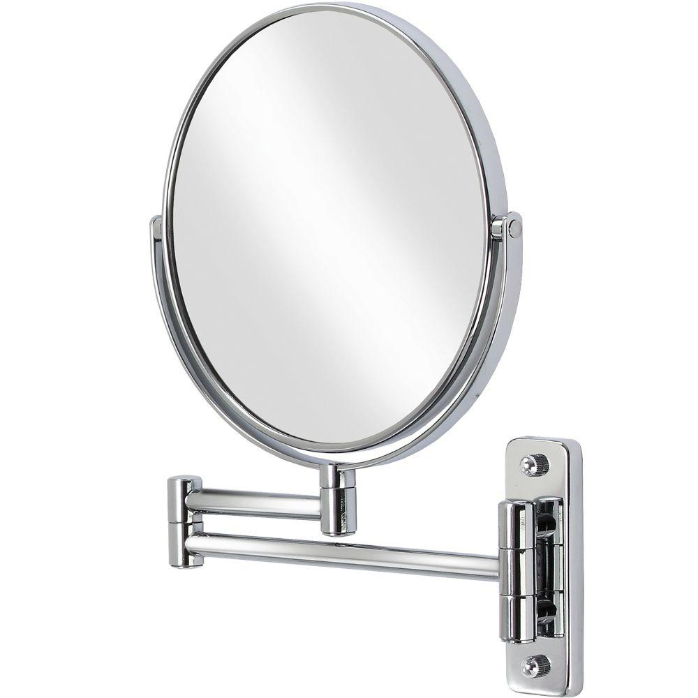 Most Up To Date Folding Wall Mirrors Pertaining To Better Living Cosmo 8 In. X 8 In (View 12 of 20)