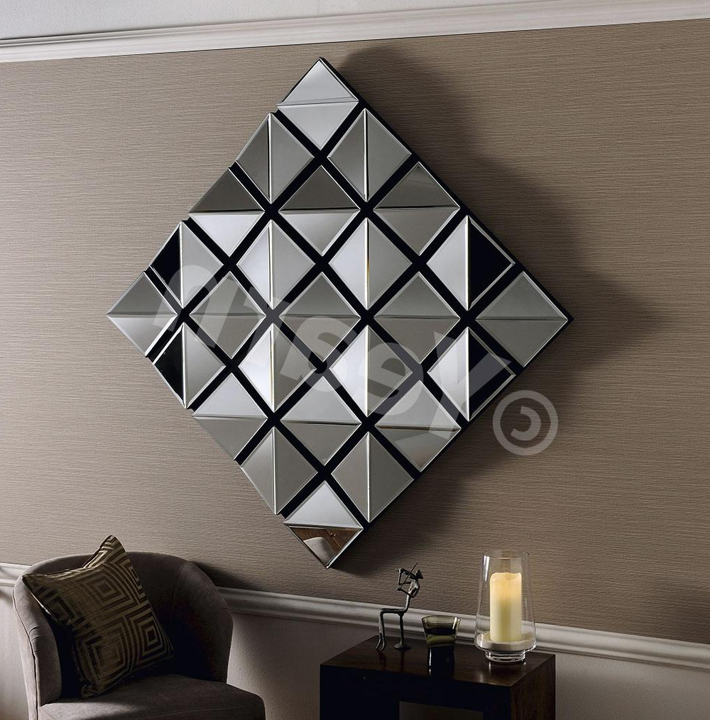 Most Up To Date Funky Wall Mirrors With Regard To Ausergewohnlich Modern Wall Mirrors For Hallway Bedrooms (View 15 of 20)