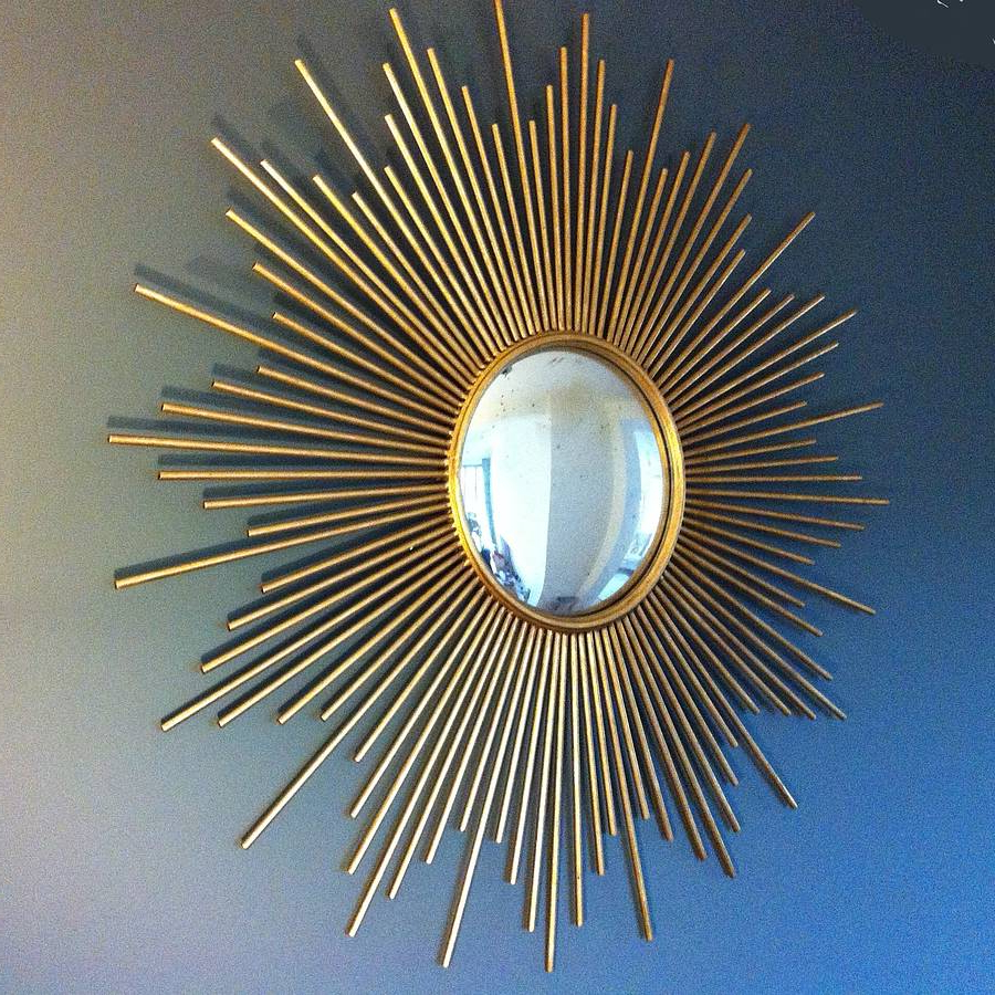 Most Up To Date Inspirations: Beautiful Sunburst Mirrors For Unique Home Pertaining To Sun Ray Wall Mirrors (View 12 of 20)