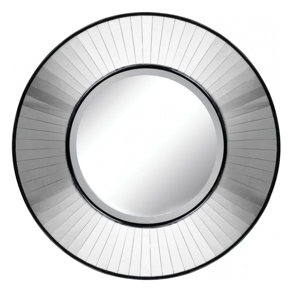 Most Up To Date Large Circular Wall Mirrors With Regard To Large Contemporary Circular Wall Mirror (View 14 of 20)