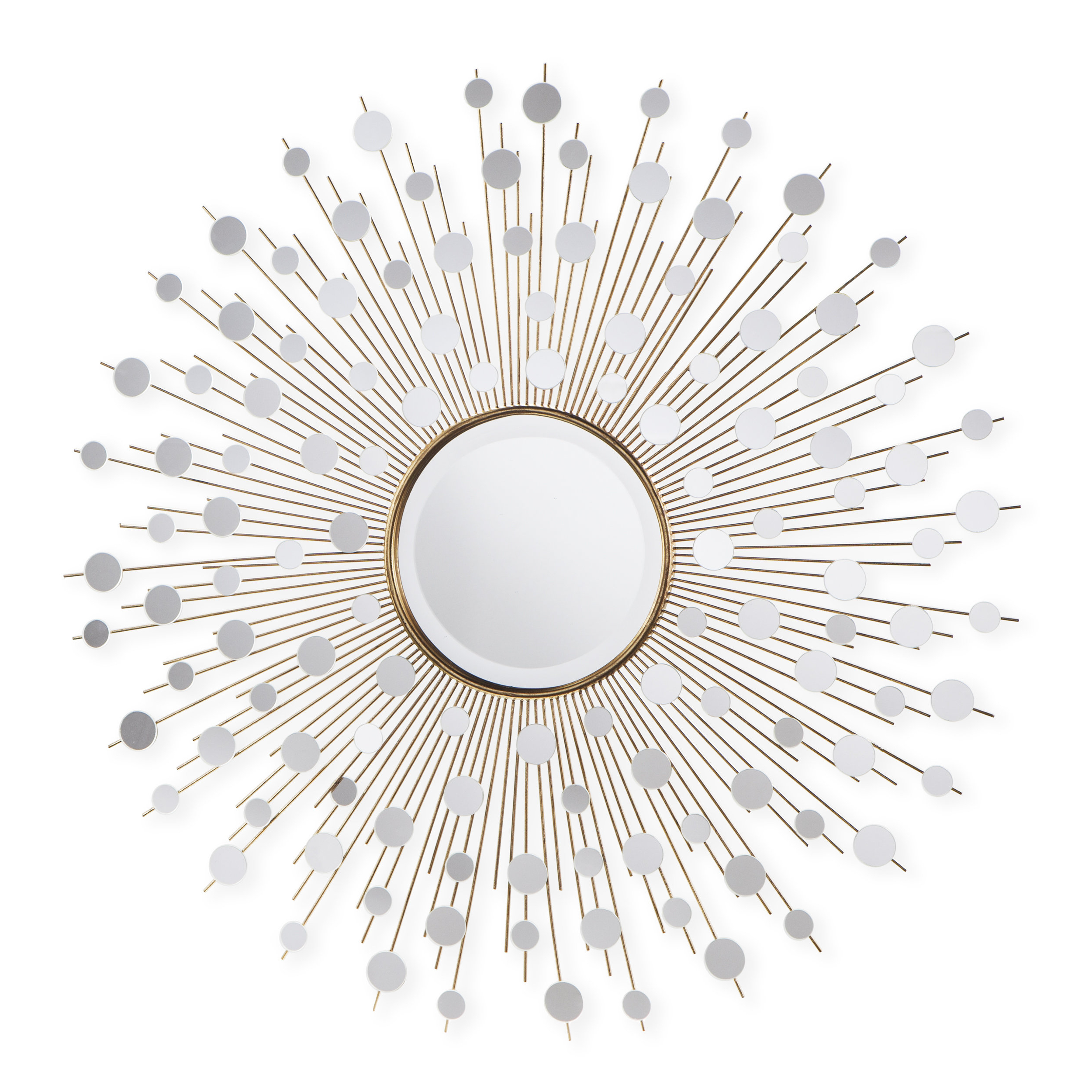 Most Up To Date Milivoje Starburst Accent Mirror Pertaining To Orion Starburst Wall Mirrors (Gallery 10 of 20)