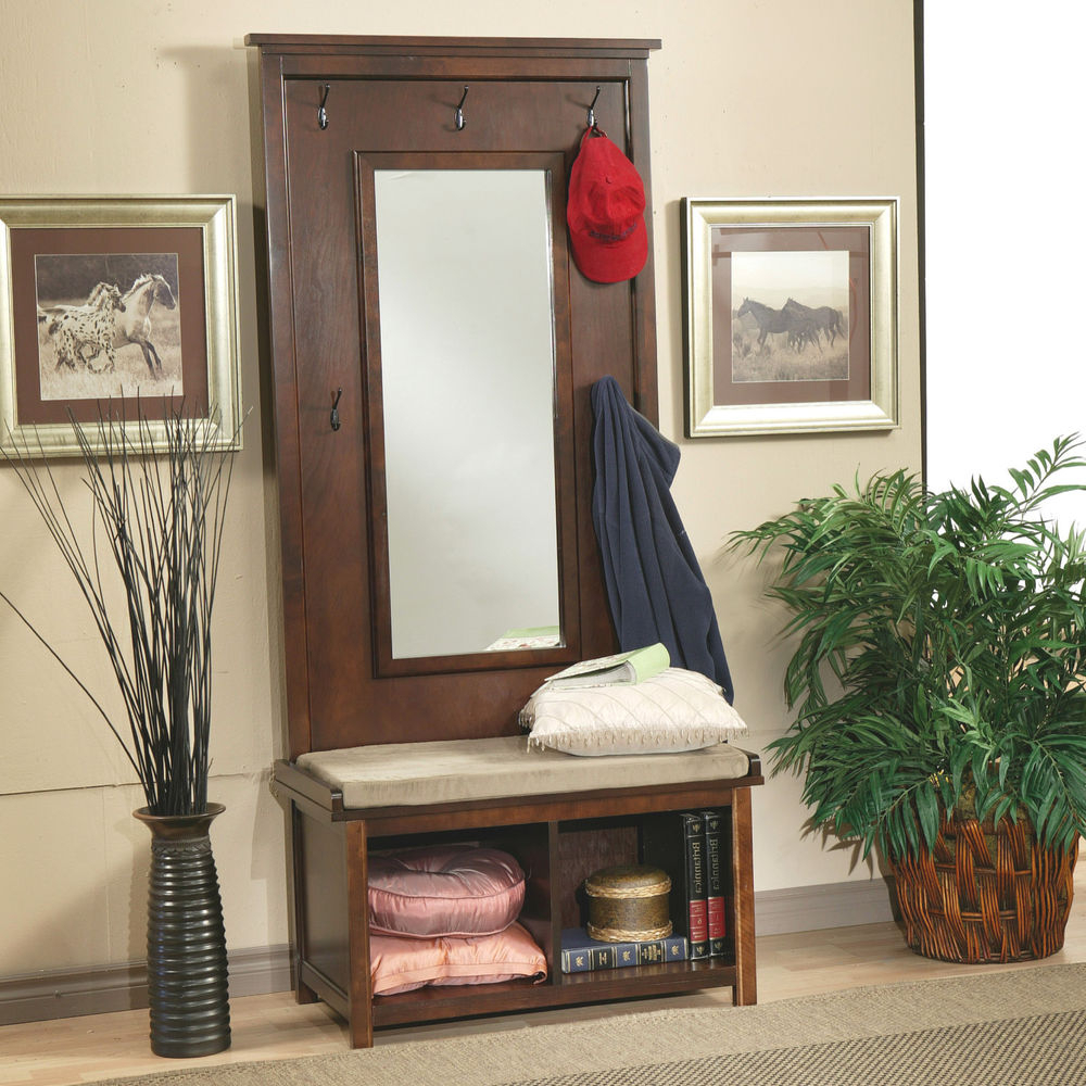 Most Up To Date Modern Coat Rack Walmart Full Length Mirror With Hooks Wall Drawers Pertaining To Wall Mirror With Coat Hooks (View 7 of 20)