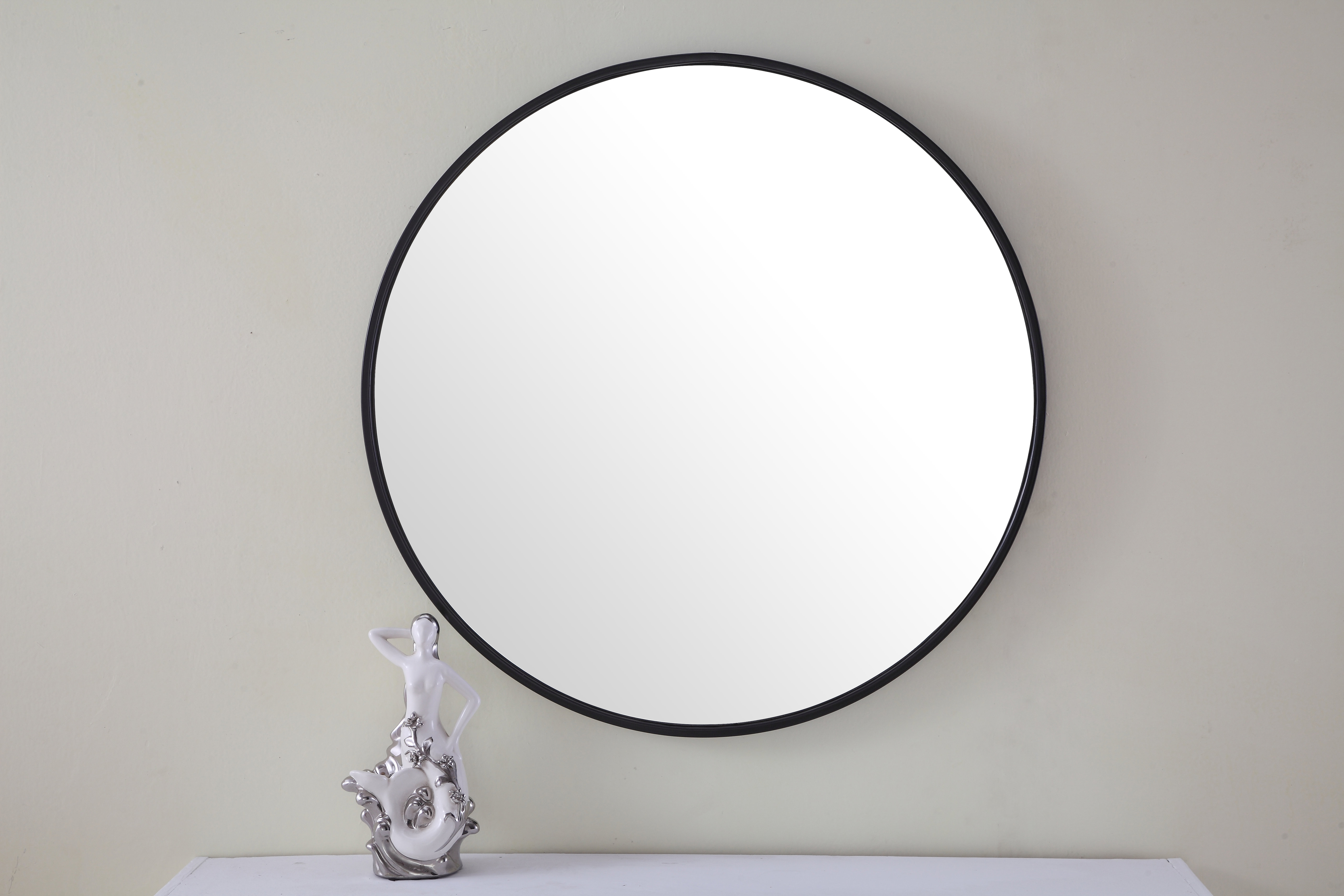 Most Up To Date Modern & Contemporary 24 Inch Round Mirror (View 16 of 20)