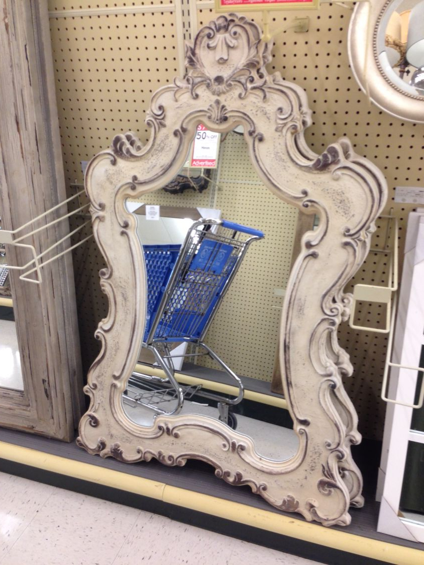 Most Up To Date Purchased This Wall Mirror At Hobby Lobby To Hang Above Emma's For Hobby Lobby Wall Mirrors (View 16 of 20)
