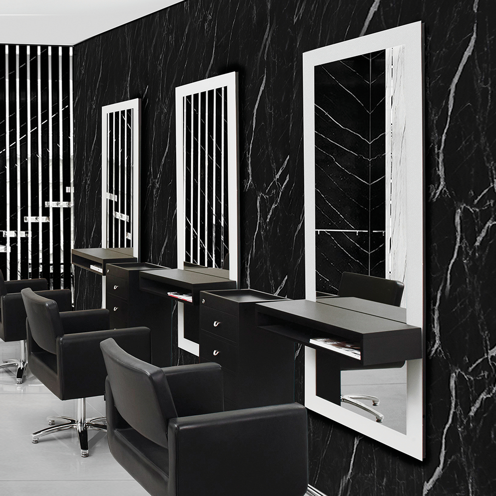 Most Up To Date Romeo Salon Mirror – Comfortel Singapore Intended For Salon Wall Mirrors (View 18 of 20)