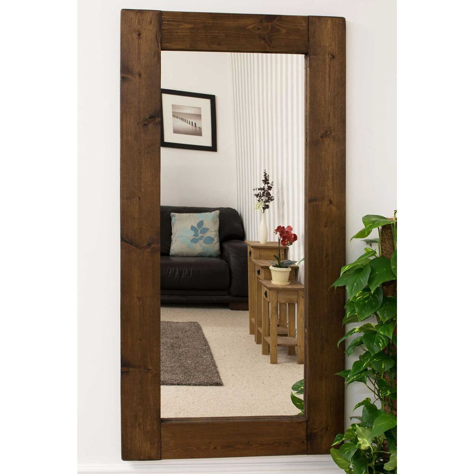 Most Up To Date Tall Rustic Country House Wall Mirror For Rustic Wall Mirrors (View 15 of 20)