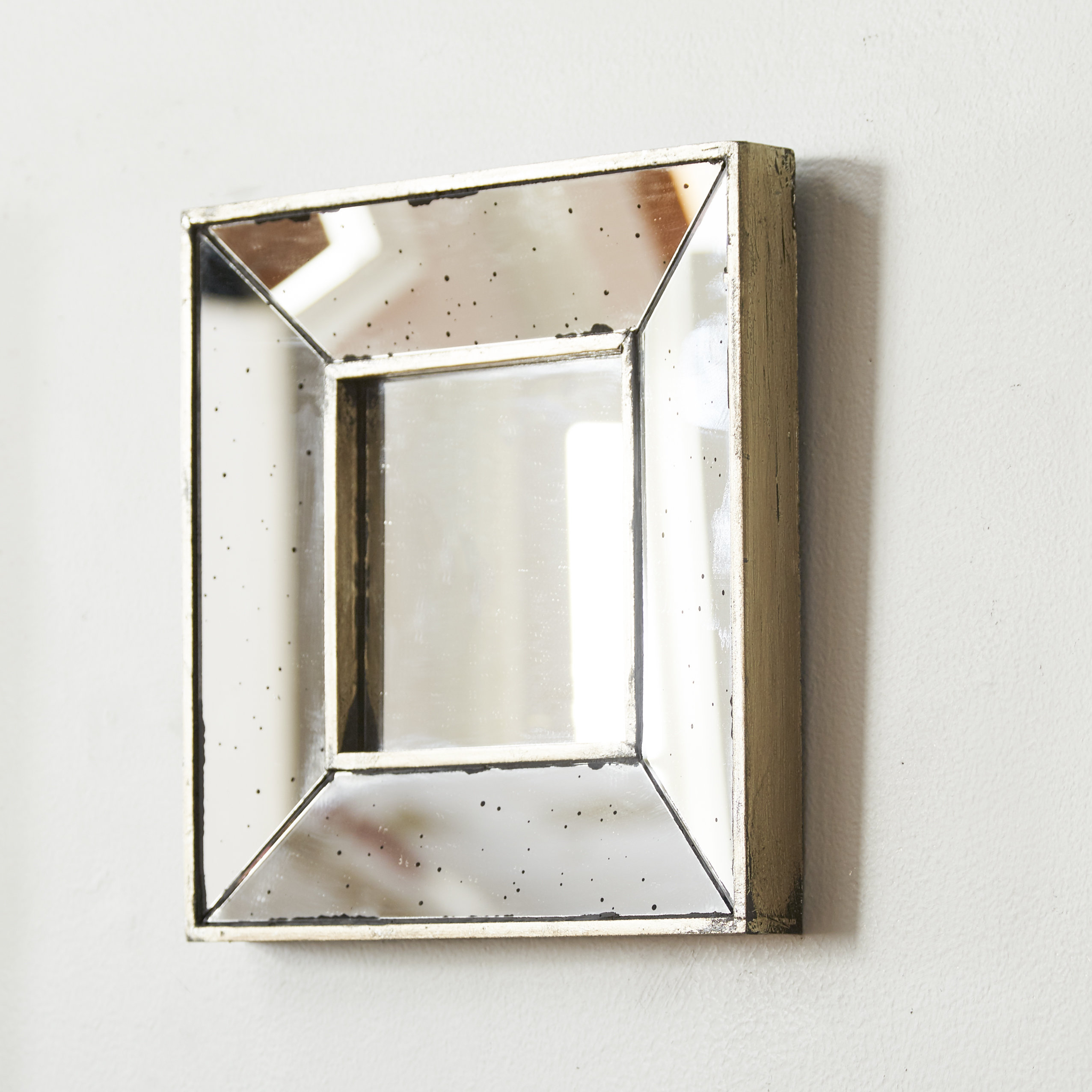 Most Up To Date Traditional Square Glass Wall Mirror Inside Square Wall Mirrors (View 8 of 20)