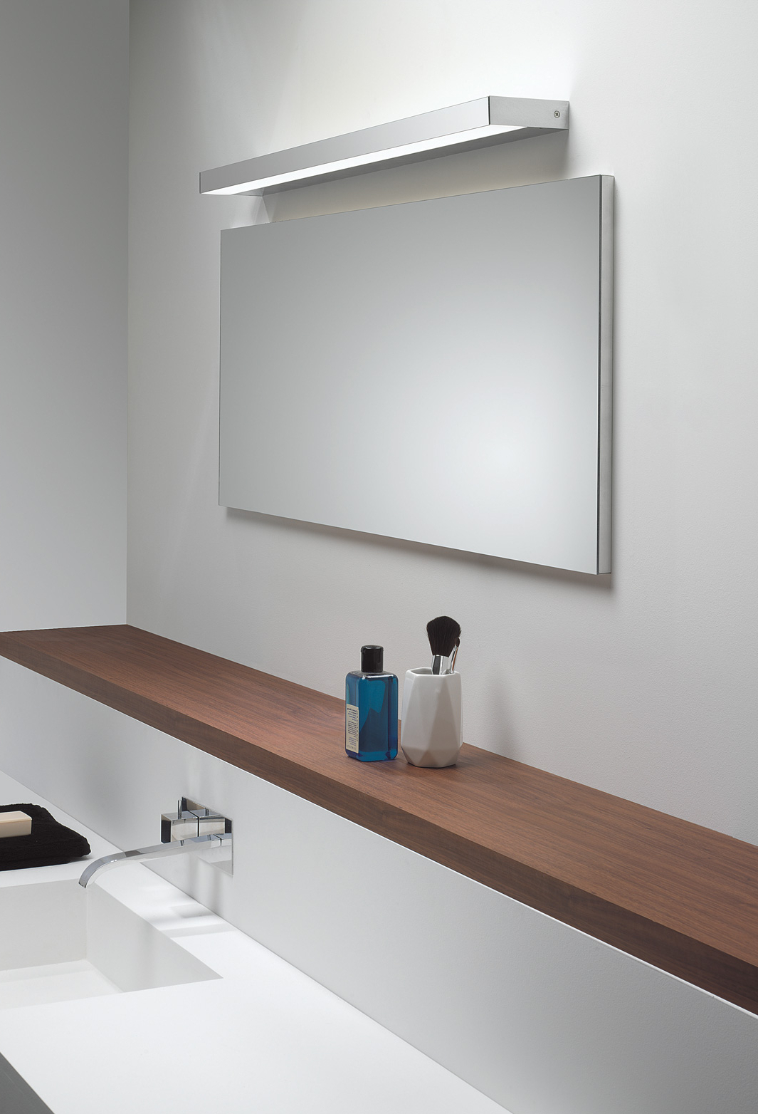 Most Up To Date Unframed Wall Mirrors With Regard To Magnetizing Lighted Bathroom Wall Mirror Ideas – Kiakiyo (View 18 of 20)