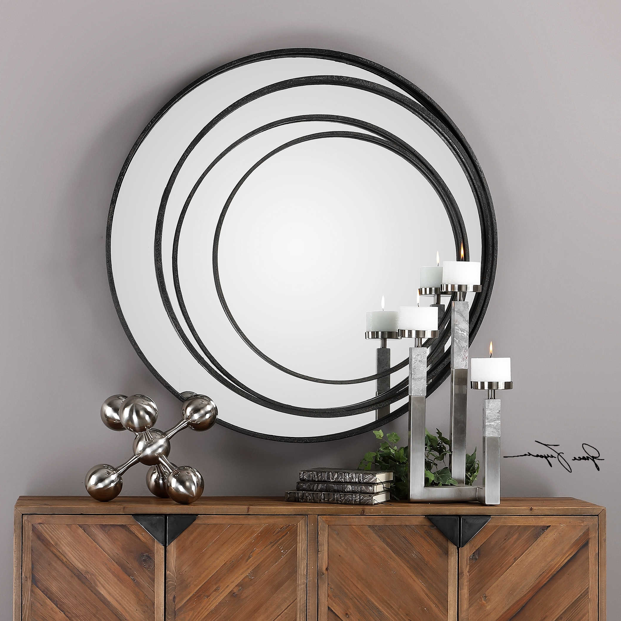 Most Up To Date Uttermost Accent Furniture, Mirrors, Wall Decor, Clocks Within Uttermost Wall Mirrors (View 8 of 20)