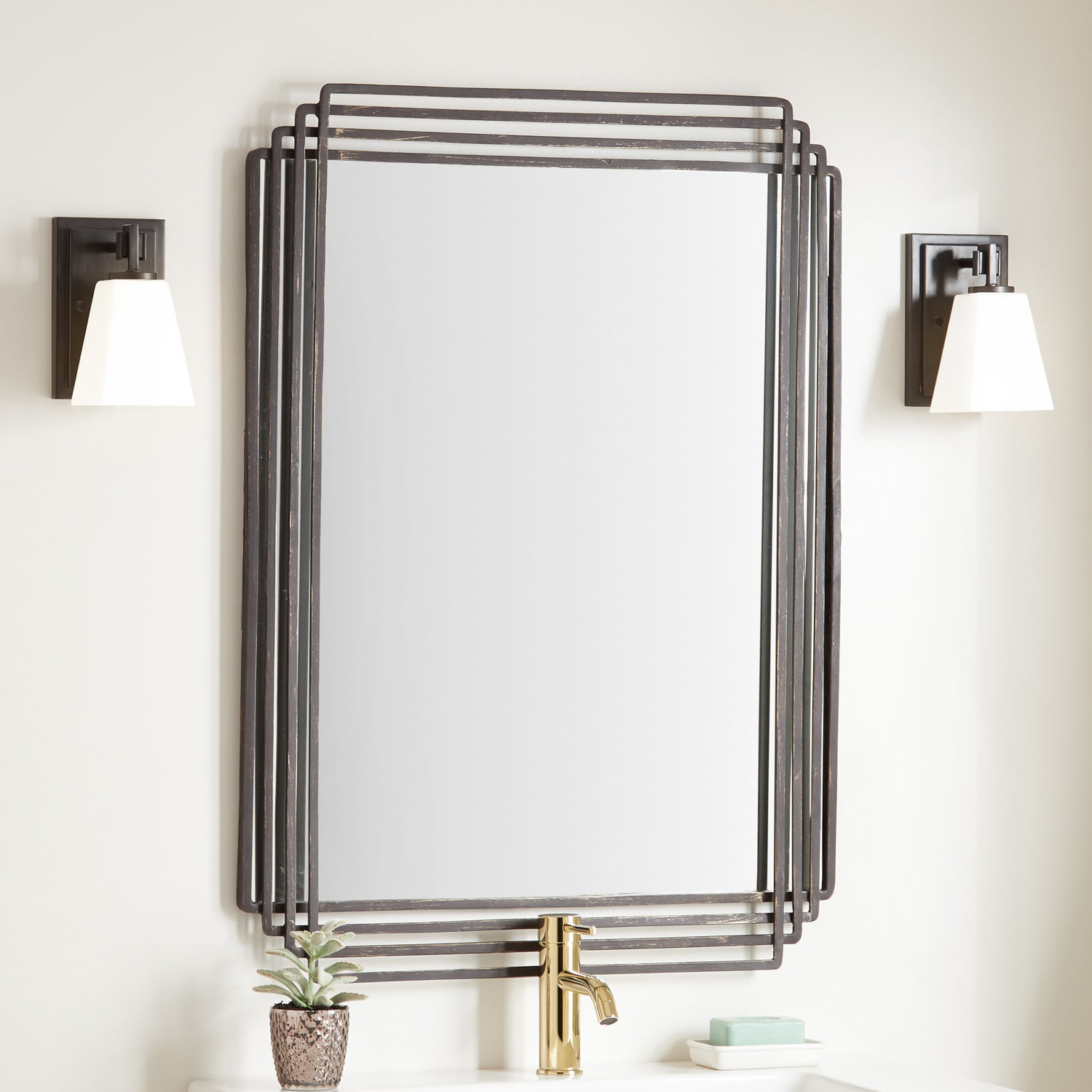 Most Up To Date Vanity Mirrors In Sethfield Decorative Vanity Mirror (View 11 of 20)