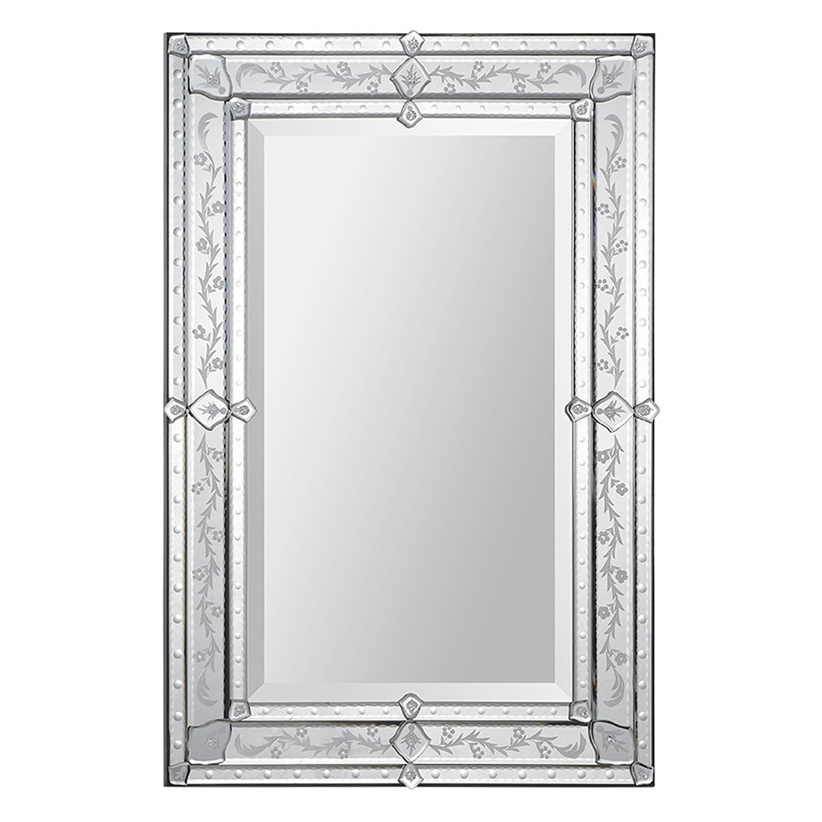 Most Up To Date Venetian Style Wall Mirrors In Ren Wil Vincenzo Venetian Wall Mirror – 24w X 36h In (View 18 of 20)
