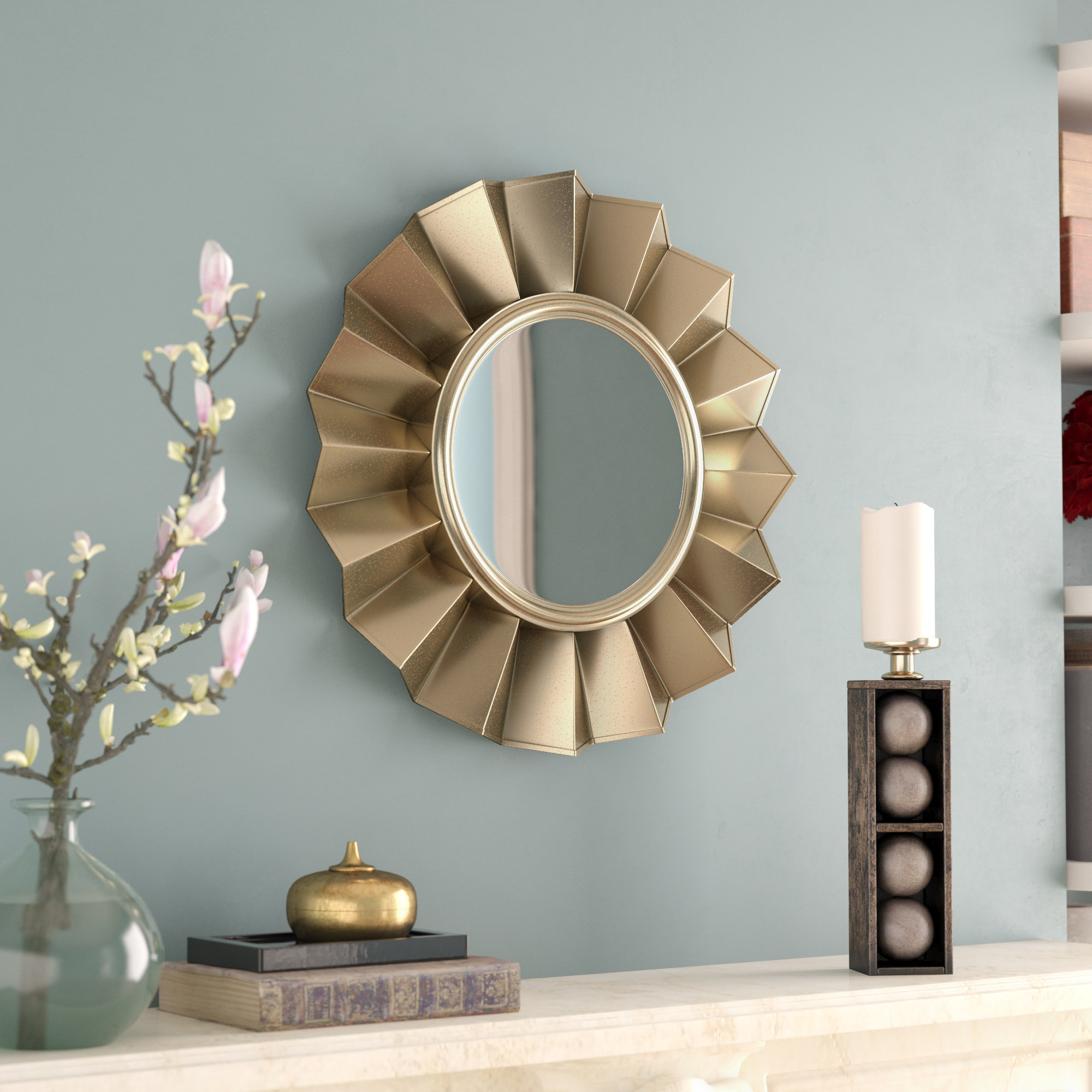 Featured Photo of Vertical Round Wall Mirrors