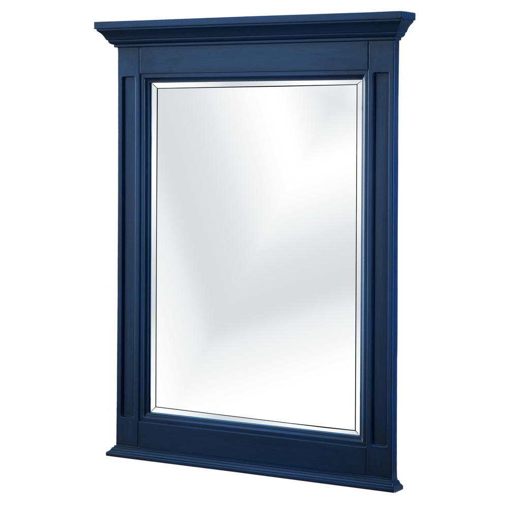 Most Up To Date Vertical Wall Mirrors With Regard To Home Decorators Collection Channing 25 In. W X 32 In (View 10 of 20)