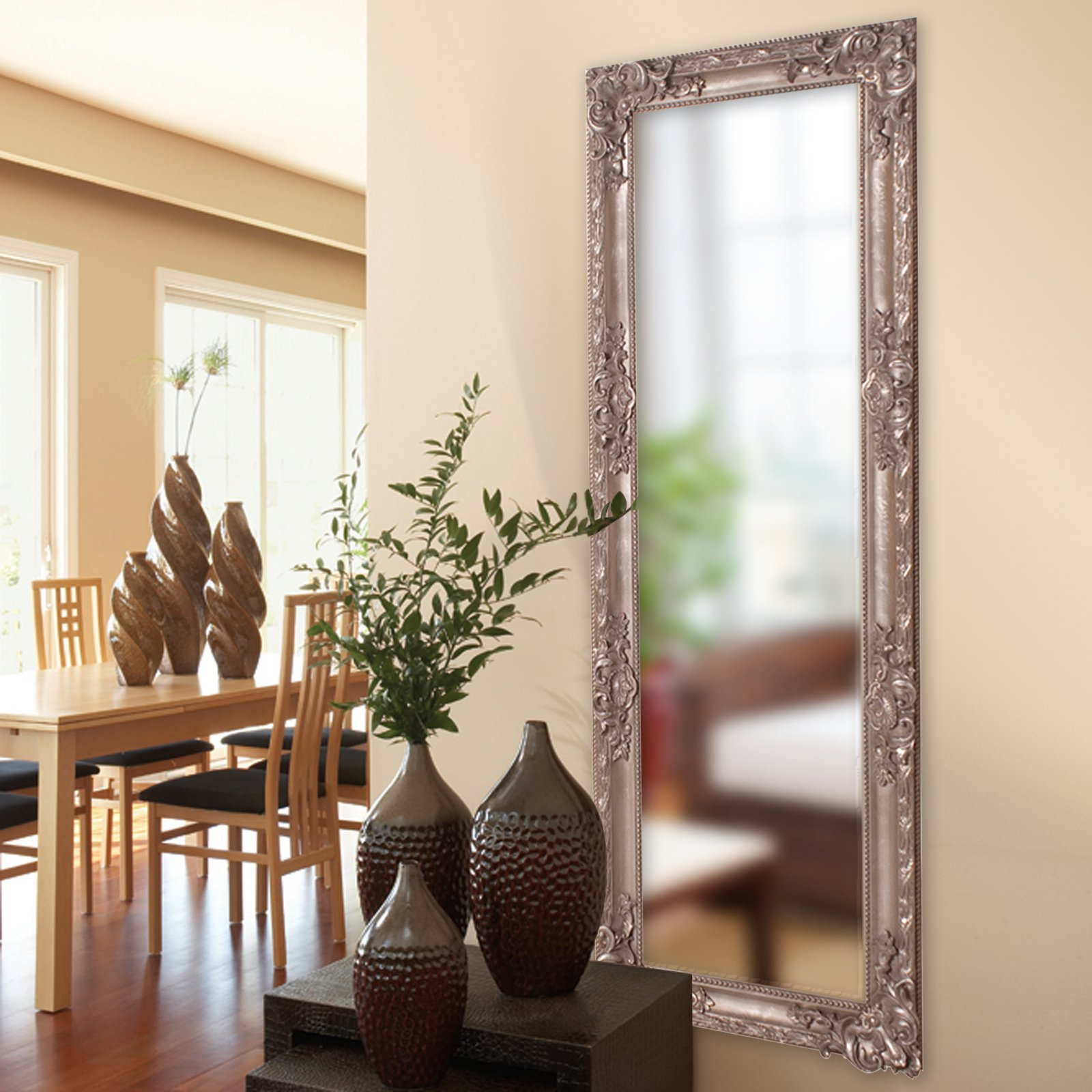 Most Up To Date Wall Mirrors For Living Room Pertaining To Belham Living Carlos Full Length Wall Mirror – 23w X 62h In (View 12 of 20)
