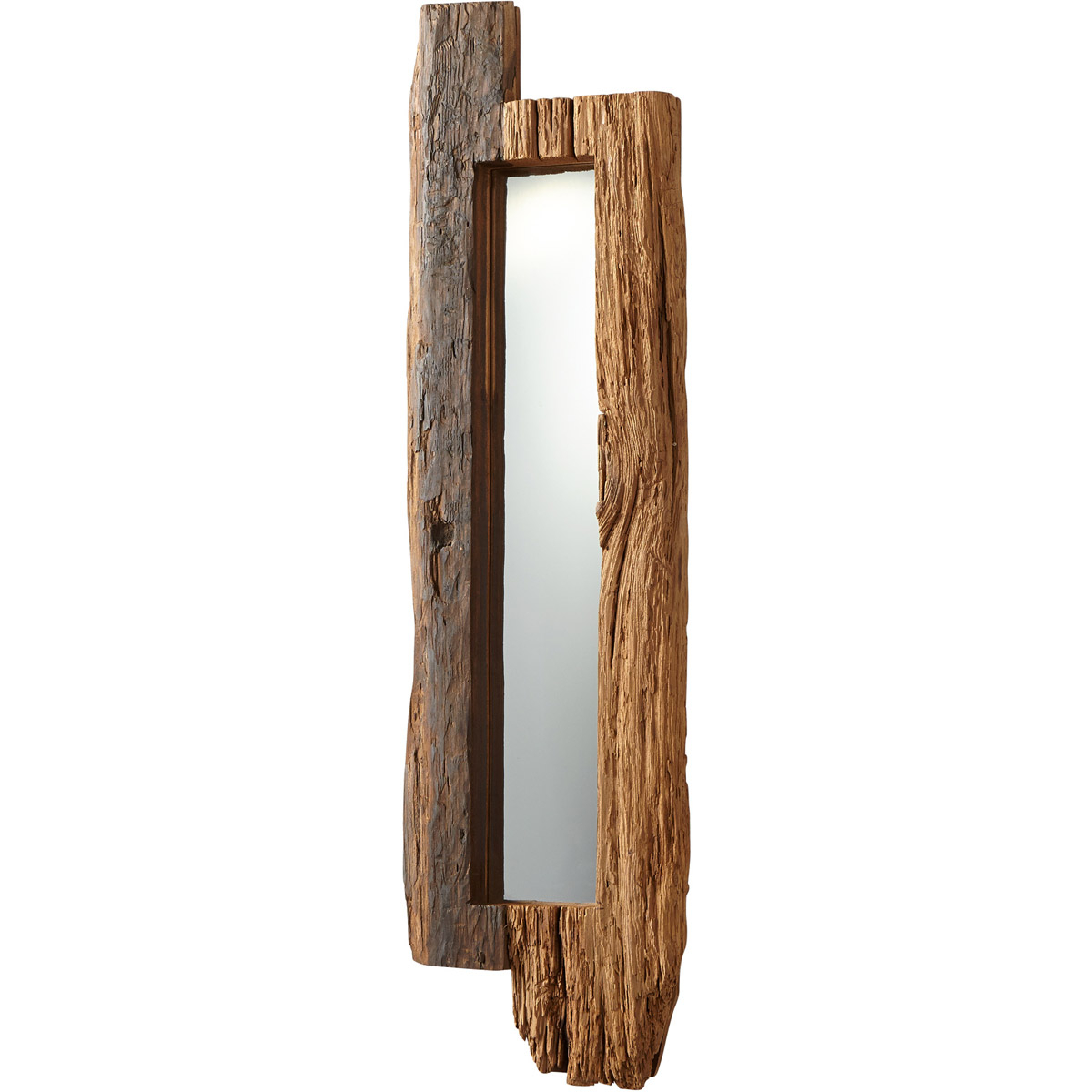 Most Up To Date Walnut Wall Mirrors Regarding Details About Cyan Design 06961 Jonas 43 X 11 Inch Walnut Wall Mirror, Small (View 14 of 20)