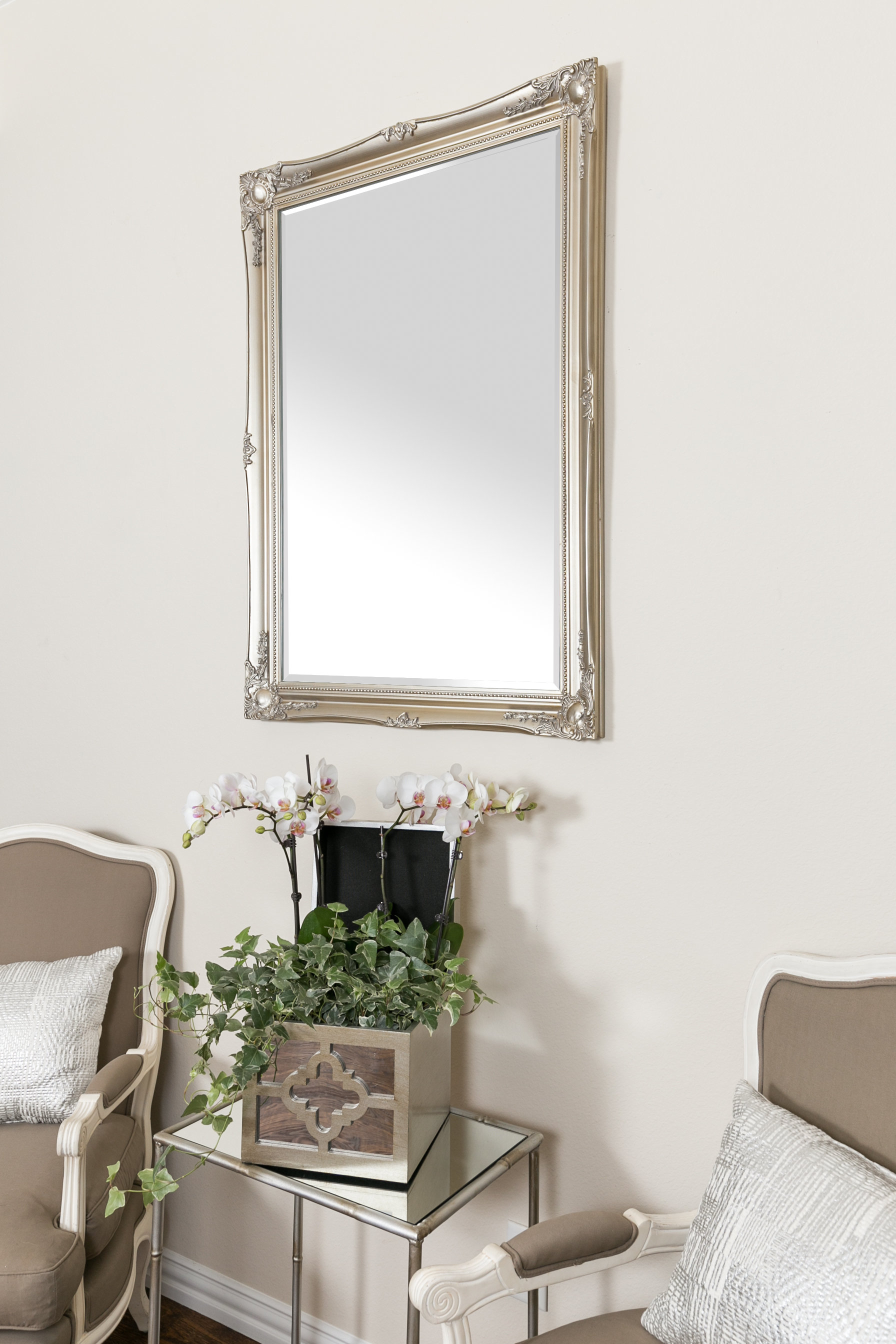 Most Up To Date Wood Frame Wall Mirror Throughout Wall Mirrors For Living Room (View 10 of 20)