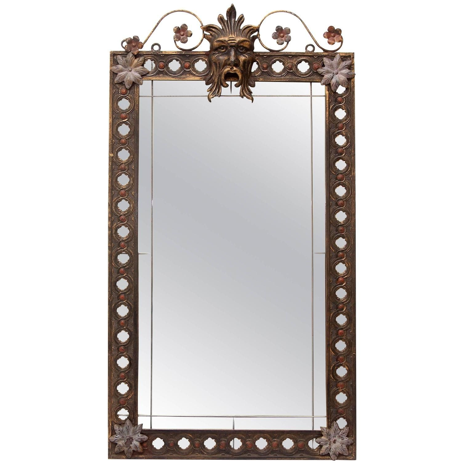 My 1Stdibs Favorites Within Wrought Iron Wall Mirrors (View 9 of 20)