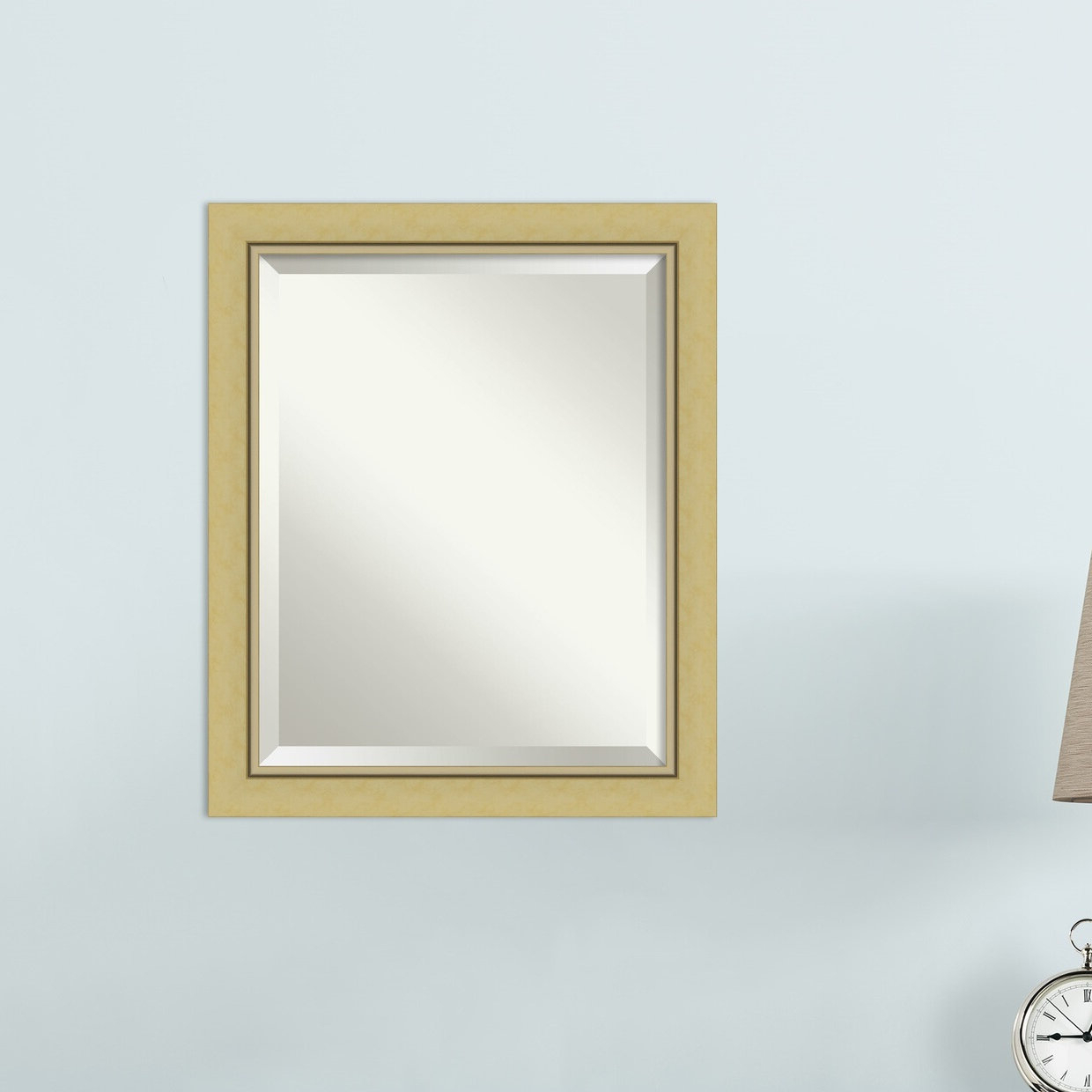 Narrow Wall Mirrors Regarding Widely Used Lachapelle Narrow Beveled Wall Mirror (Gallery 15 of 20)