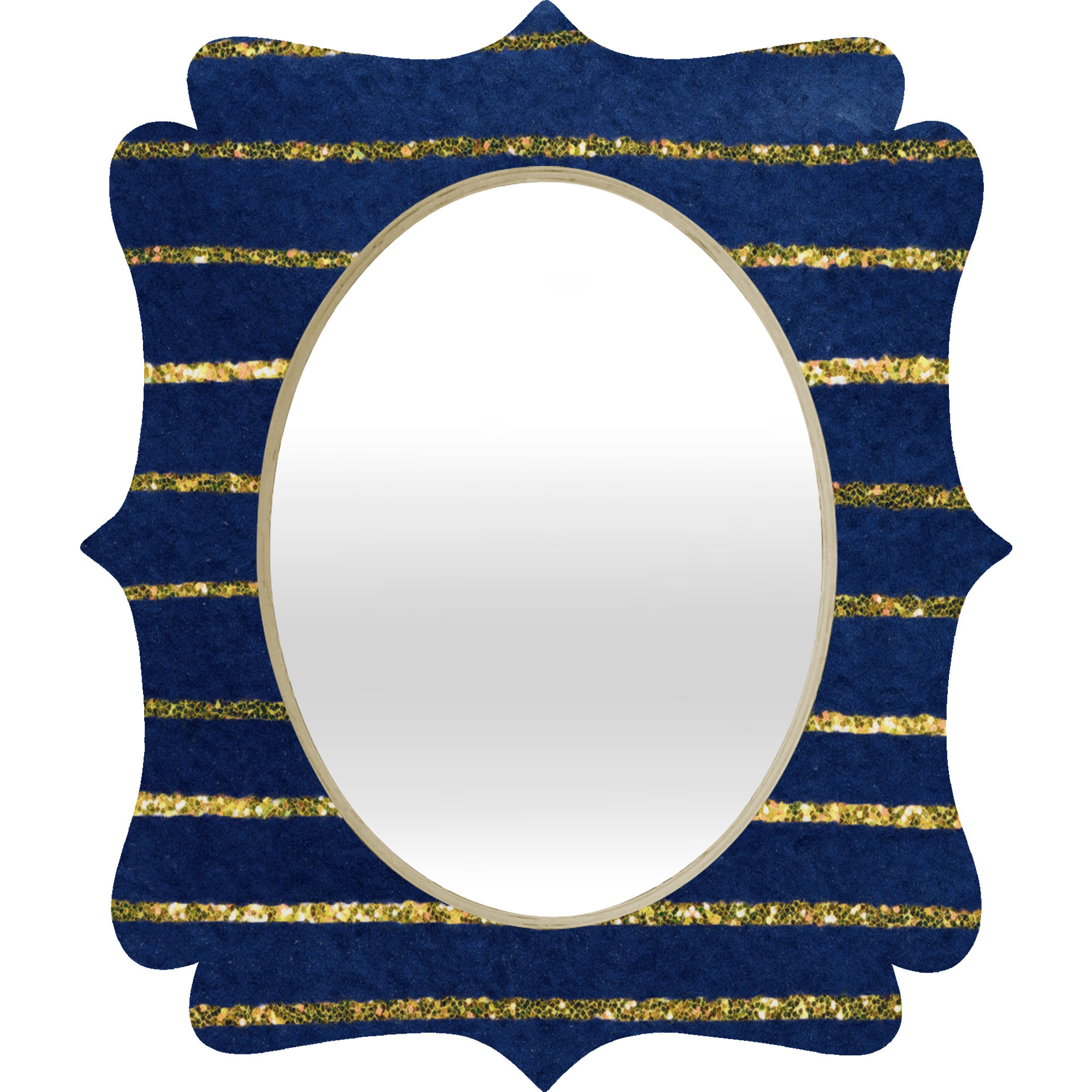 Nautical Wall Mirrors Intended For Most Current Social Proper Nautical Sparkle Wall Mirror (Gallery 17 of 20)