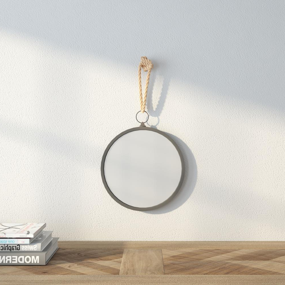Nautical Wall Mirrors With Regard To Famous Stonebriar Collection 11 In. H X 10 In (View 7 of 20)