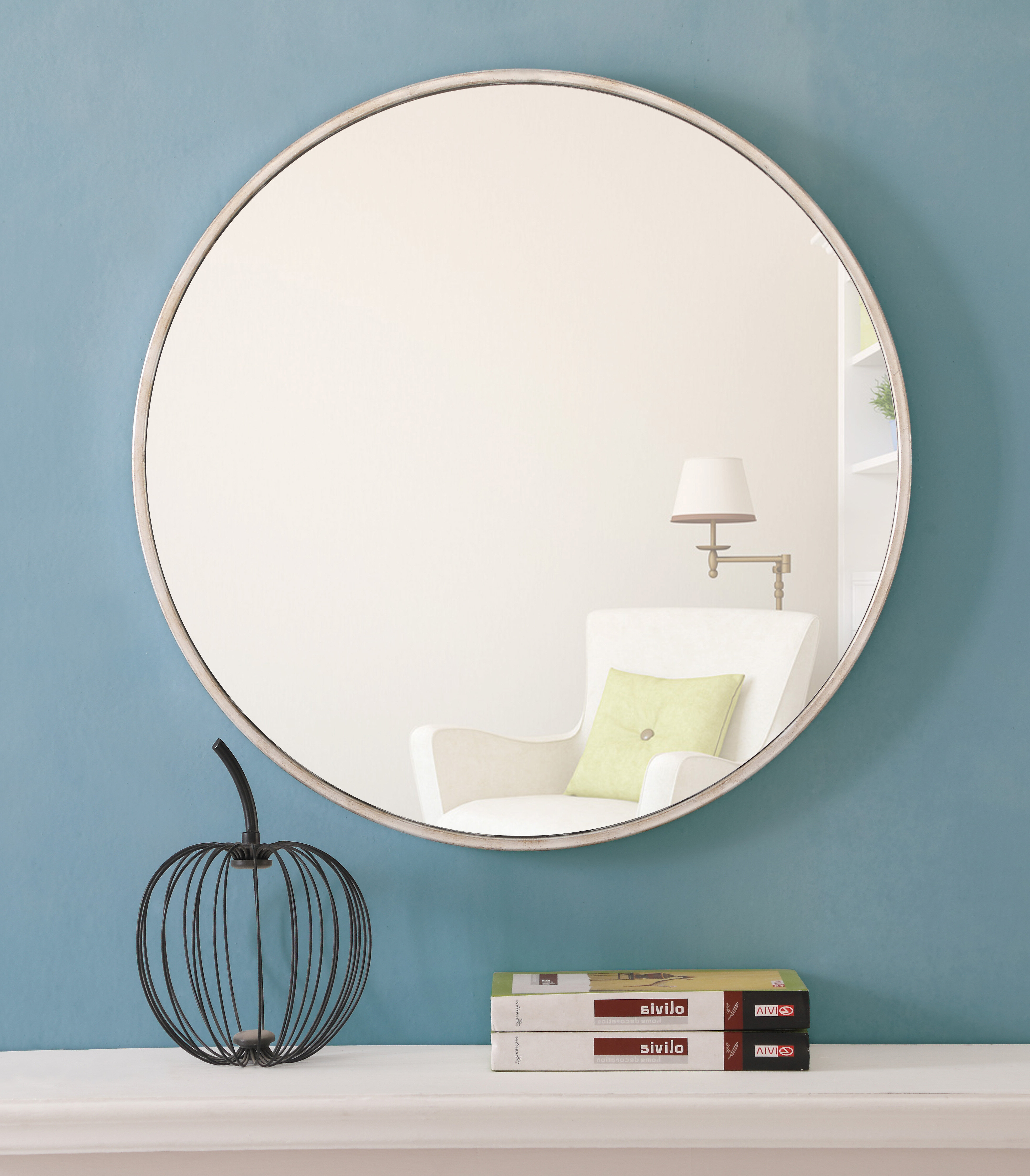 Needville Modern & Contemporary Accent Mirrors With Regard To Well Liked Needville Modern & Contemporary Beveled Accent Mirror (View 16 of 20)
