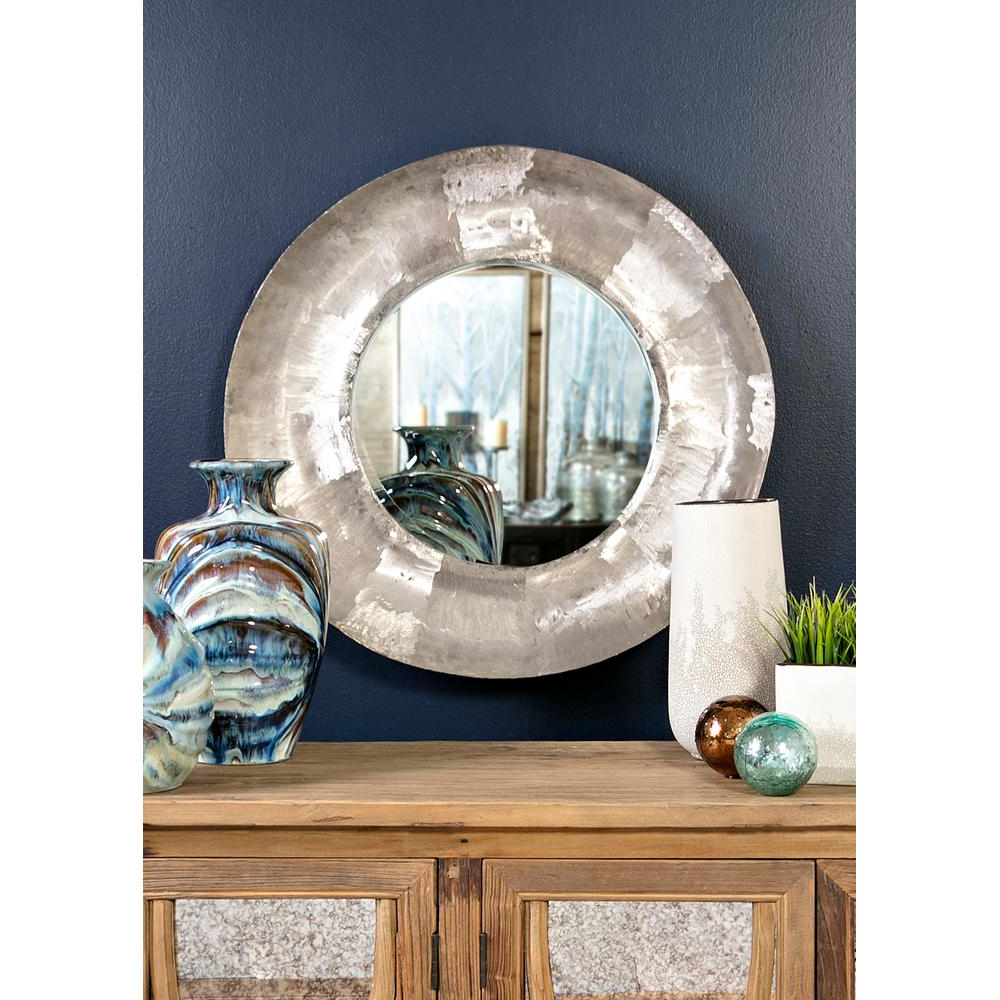 Neka Concave Decorative Mirror 14739 – The Home Depot With Latest Concave Wall Mirrors (View 12 of 20)