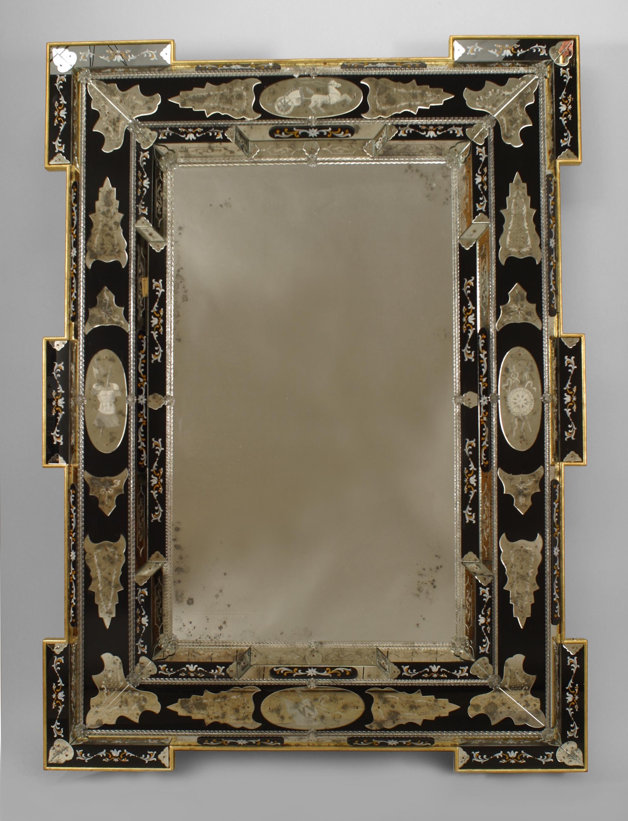 Newel Inside 2019 Decorative Etched Wall Mirrors (Gallery 10 of 20)