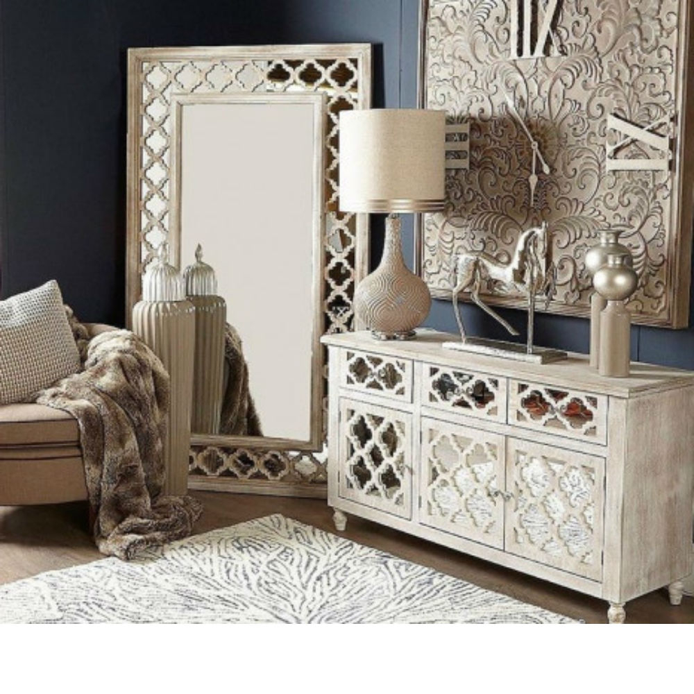 Newest Bailey Extra Large Wall Mirror Pertaining To Bedroom Wall Mirrors (View 13 of 20)