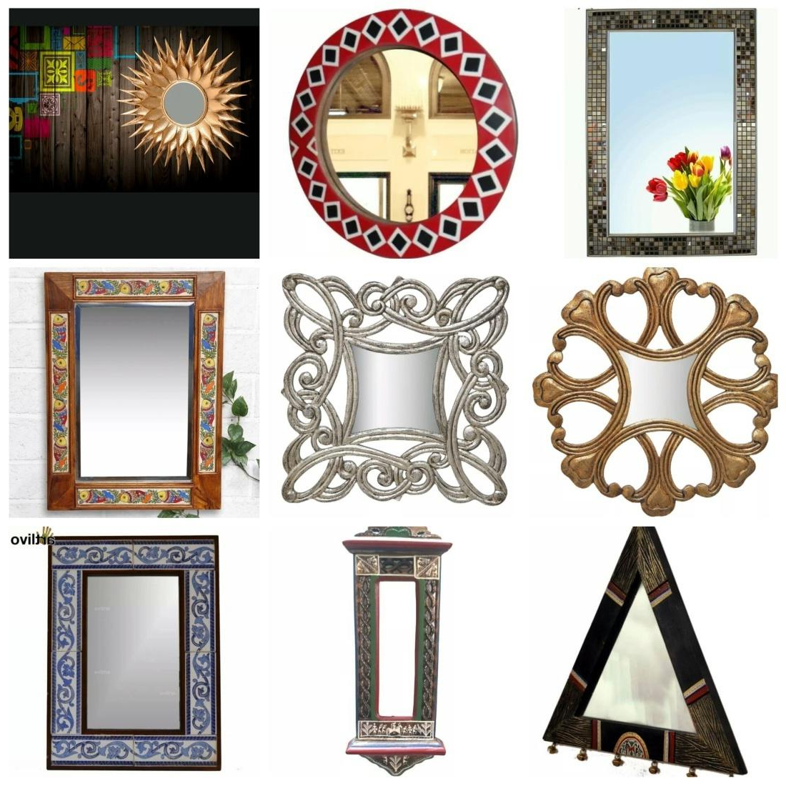Newest Ethnic Wall Mirrors Pertaining To Amazing Decor Ideas For An Ethnic Dining Room (View 14 of 20)