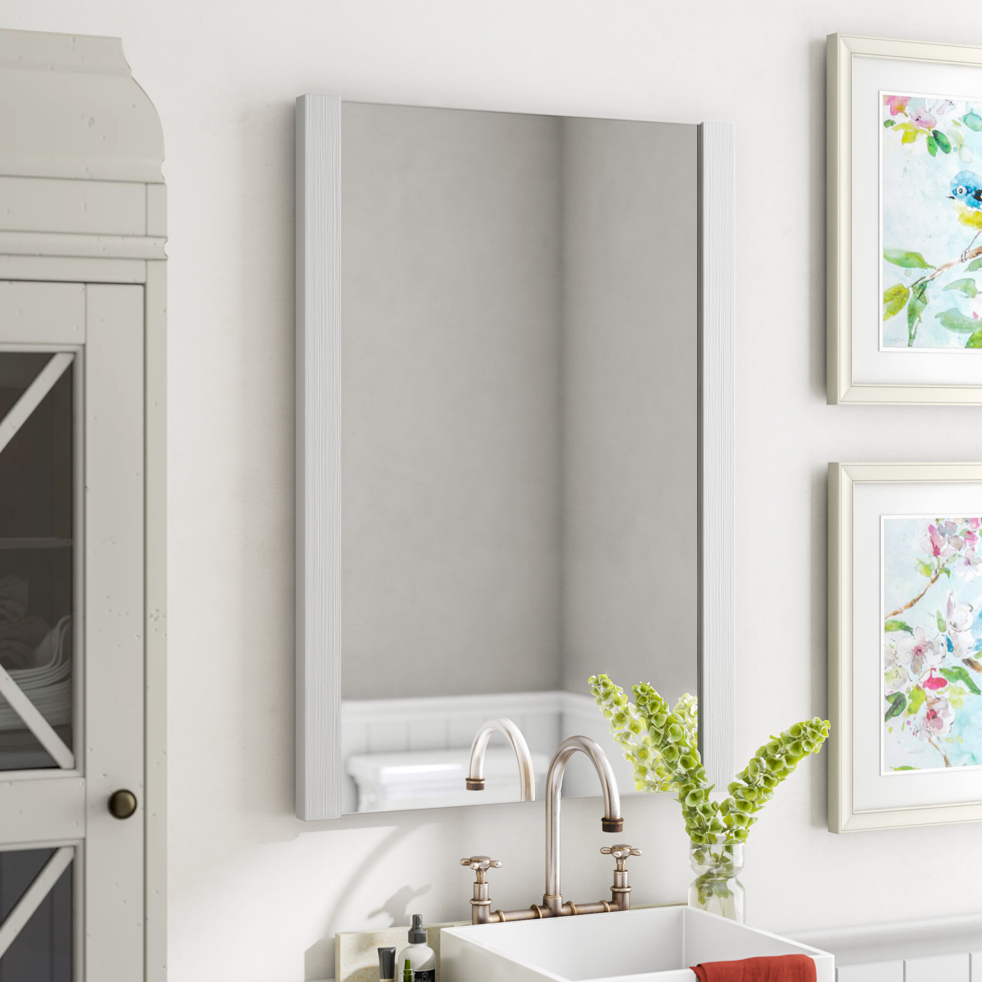 Newest Kaleb Modern And Contemporary Accent Mirror Regarding Kayden Accent Mirrors (Gallery 13 of 20)